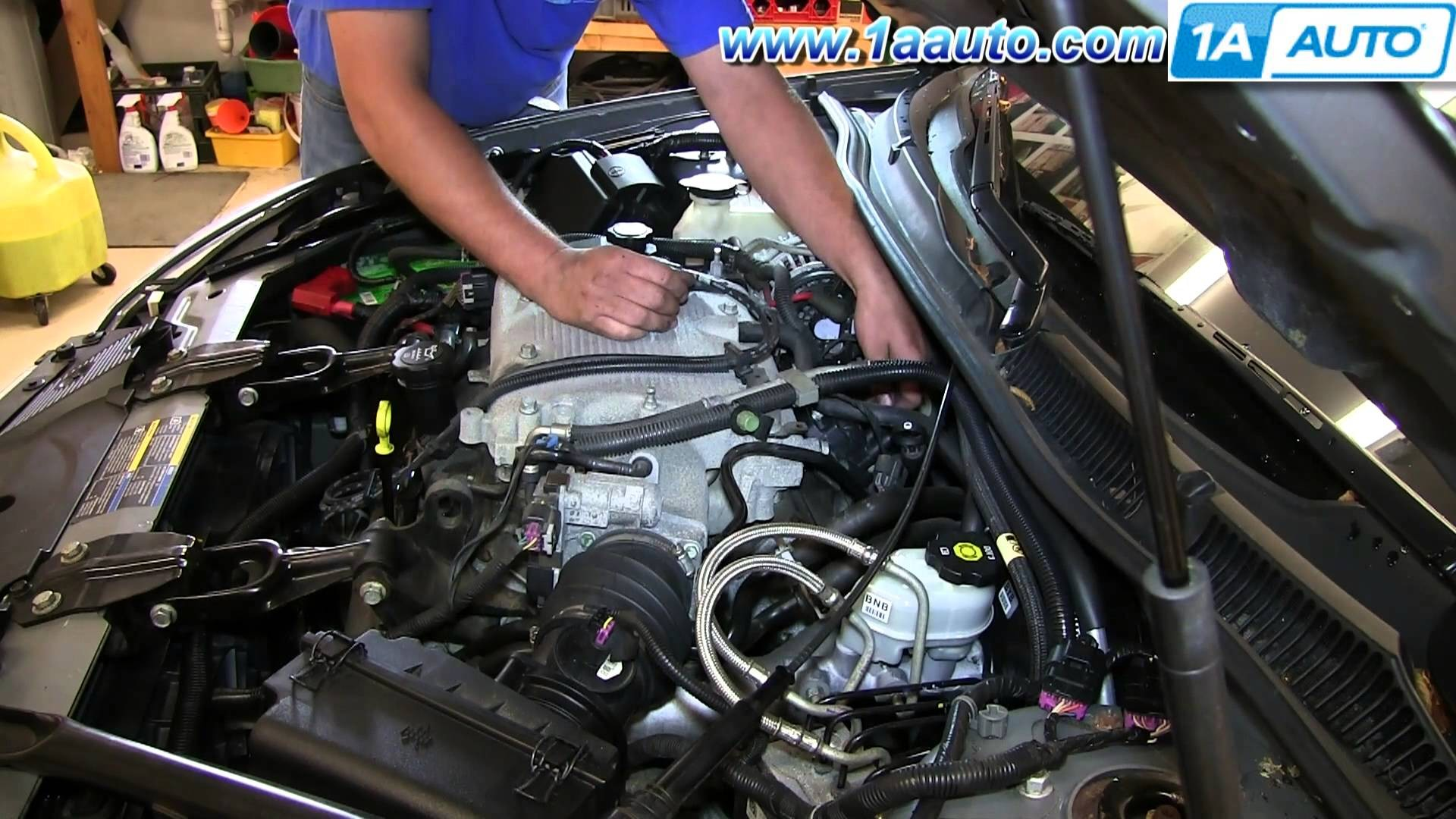 How To Replace Install Engine Ignition Coil 2006 12 Chevy Impala 3 5