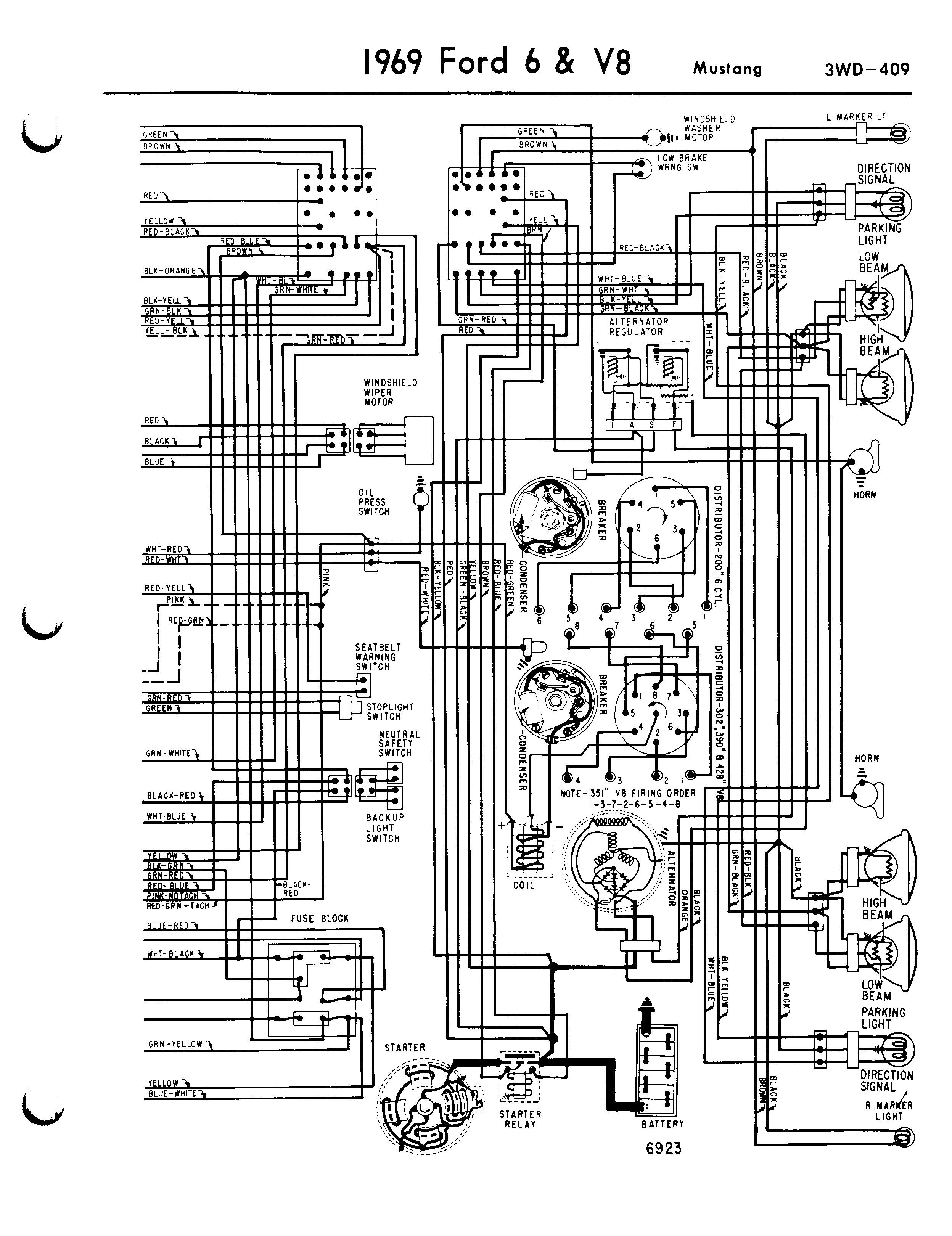 2007 ford Mustang Wiring Diagram Wiring Diagram 1966 ford Mustang 6 V8 3wd 235 Schematic for Alluring Of 2007 ford Mustang Wiring Diagram