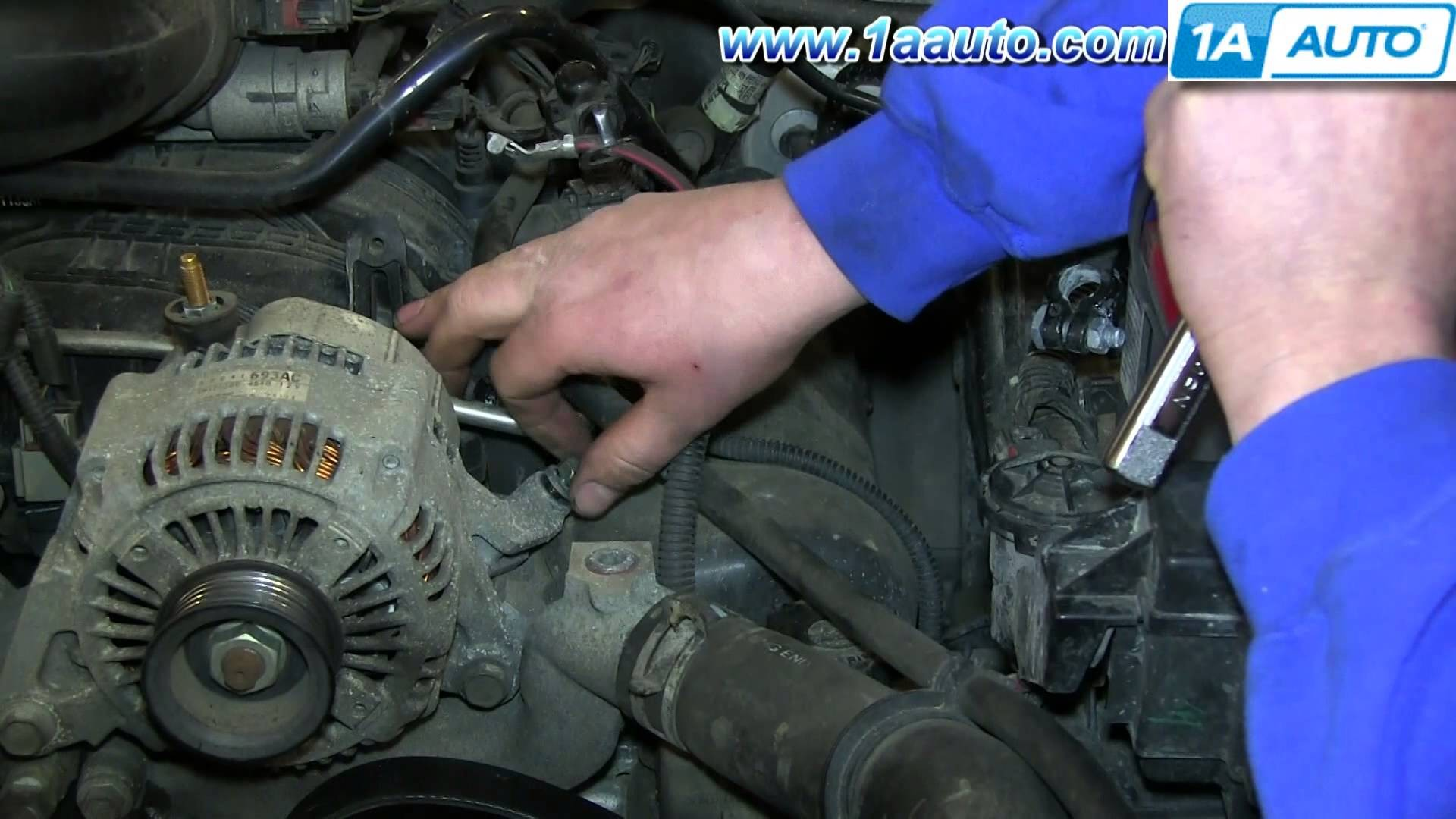 2007 Jeep Commander Engine Diagram How To Service The Automatic 3 7l Install Replace Remove Alternator 2004 07 Liberty Of