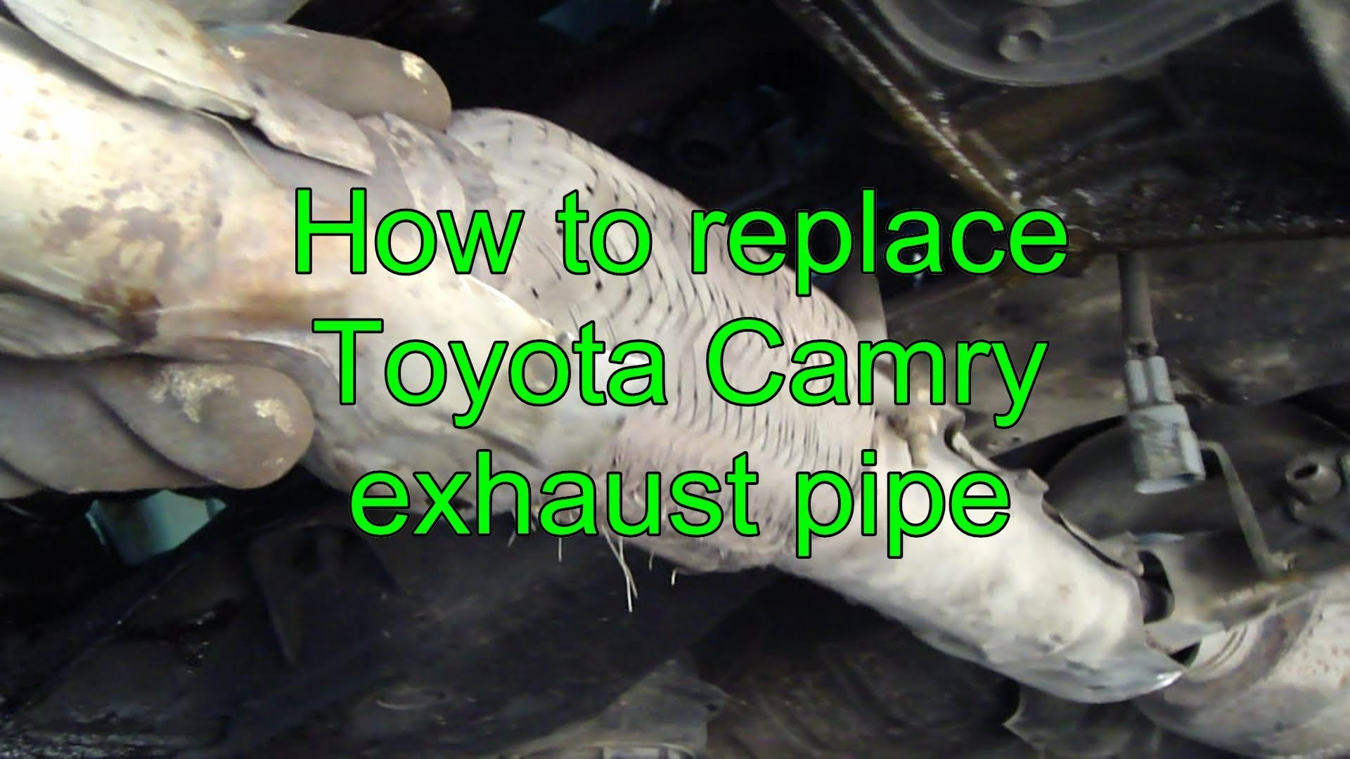 2007 Toyota Camry Engine Diagram How To Replace Exhaust Pipe Years 1992 2002