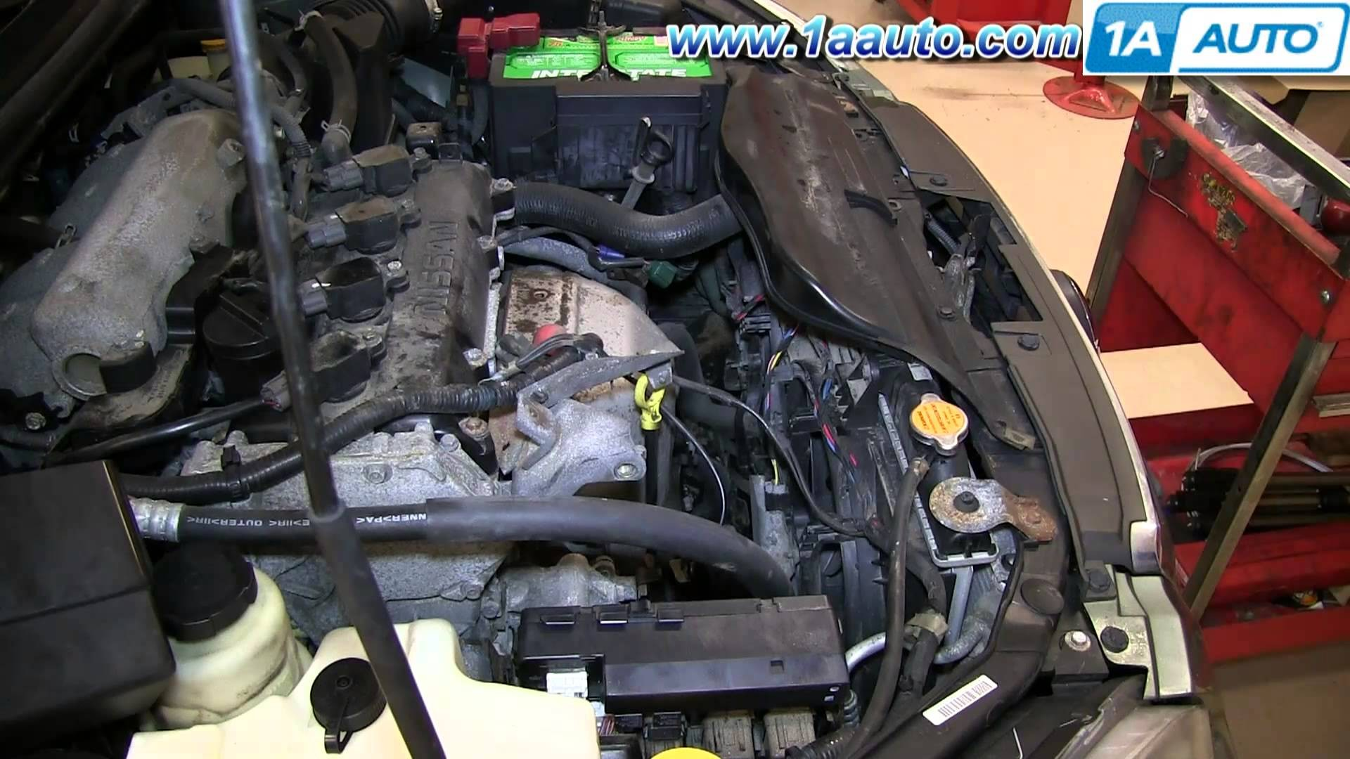 2008 Nissan Sentra Engine Diagram How To Install Replace 2002 Water Pump 06 2 5l Altima