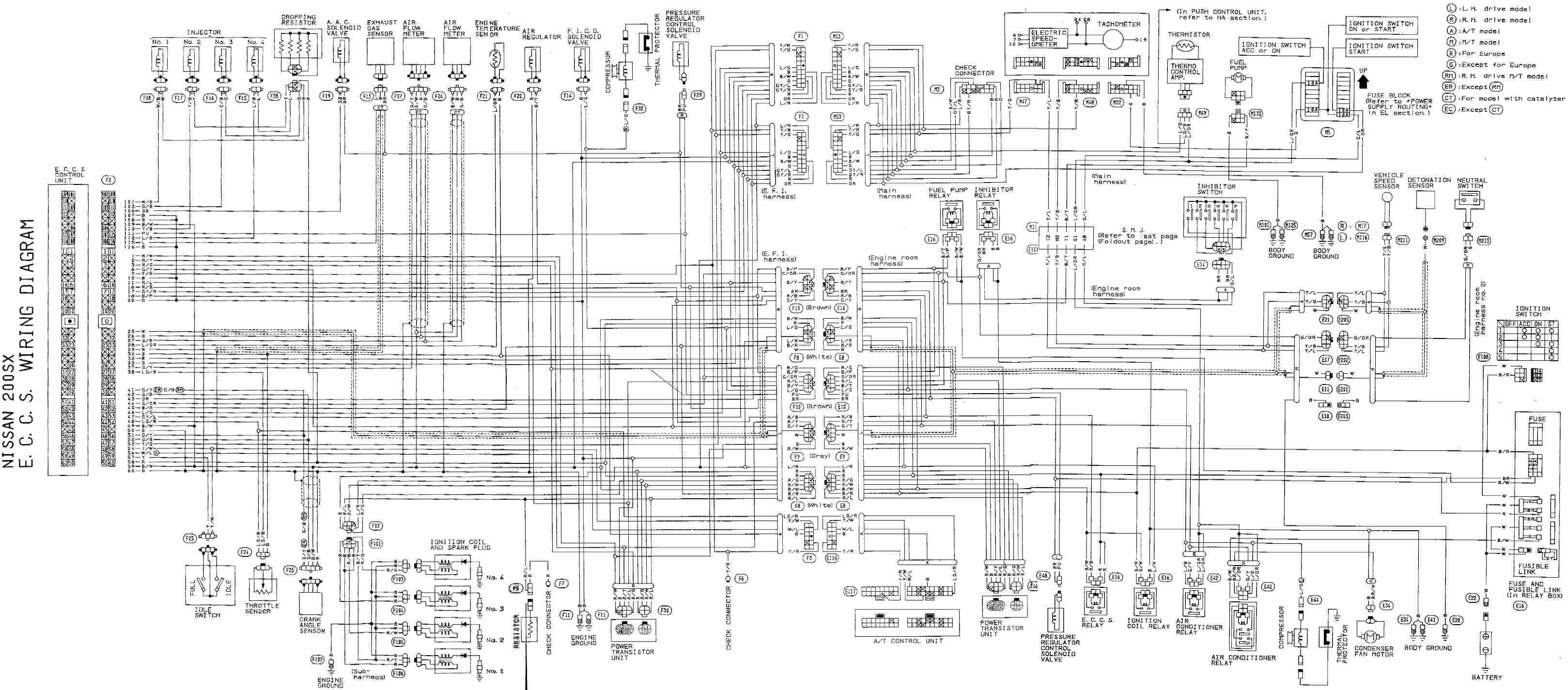 2008 Nissan Sentra Engine Diagram Wiring Diagram Sr20 Engine Plete Eccs Stunning Nissan Sentra Of 2008 Nissan Sentra Engine Diagram