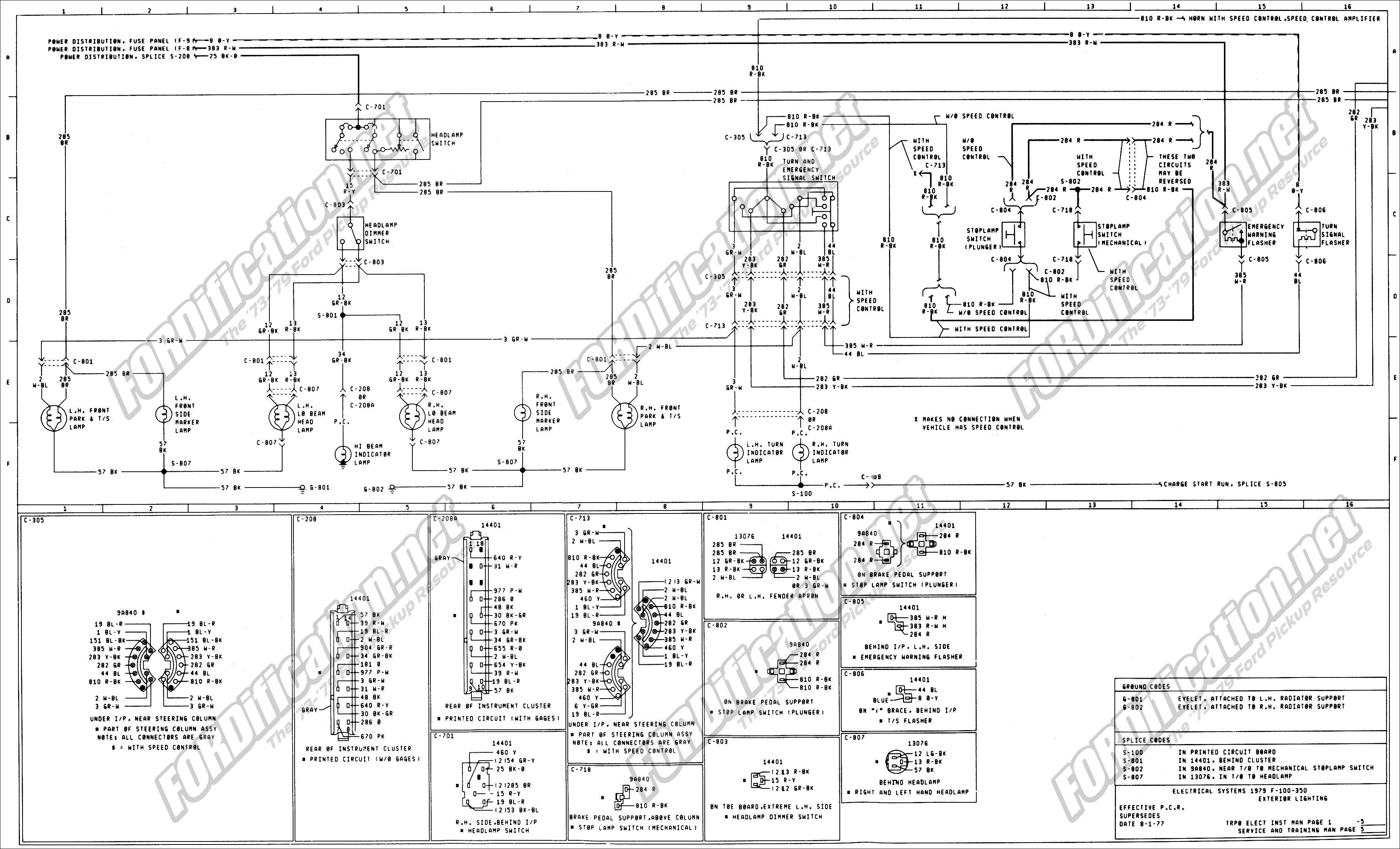 2011 ford F150 Radio Wiring Diagram 1973 1979 ford Truck Wiring Diagrams & Schematics fordification Of 2011 ford F150 Radio Wiring Diagram