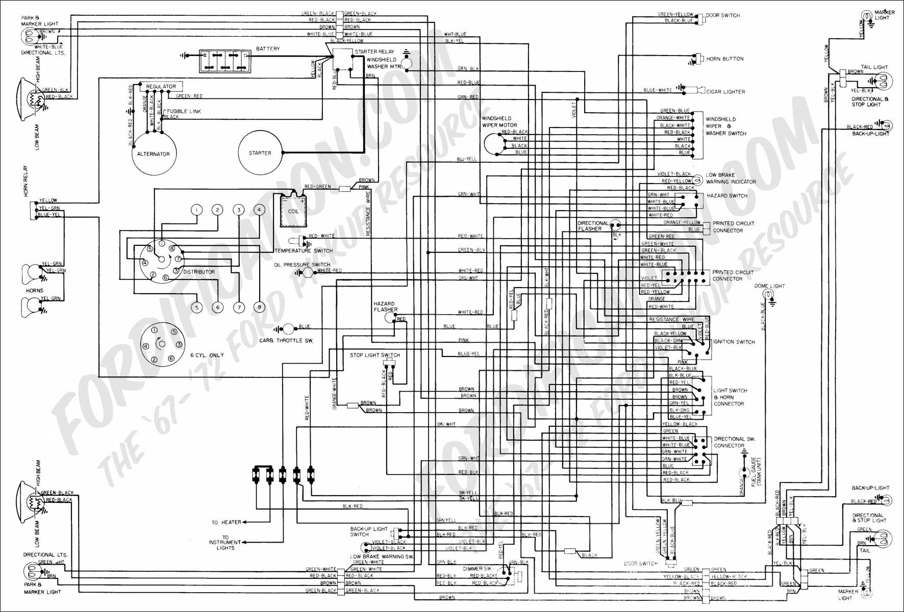 ford alternator wiring diagram 1988 f700 blue