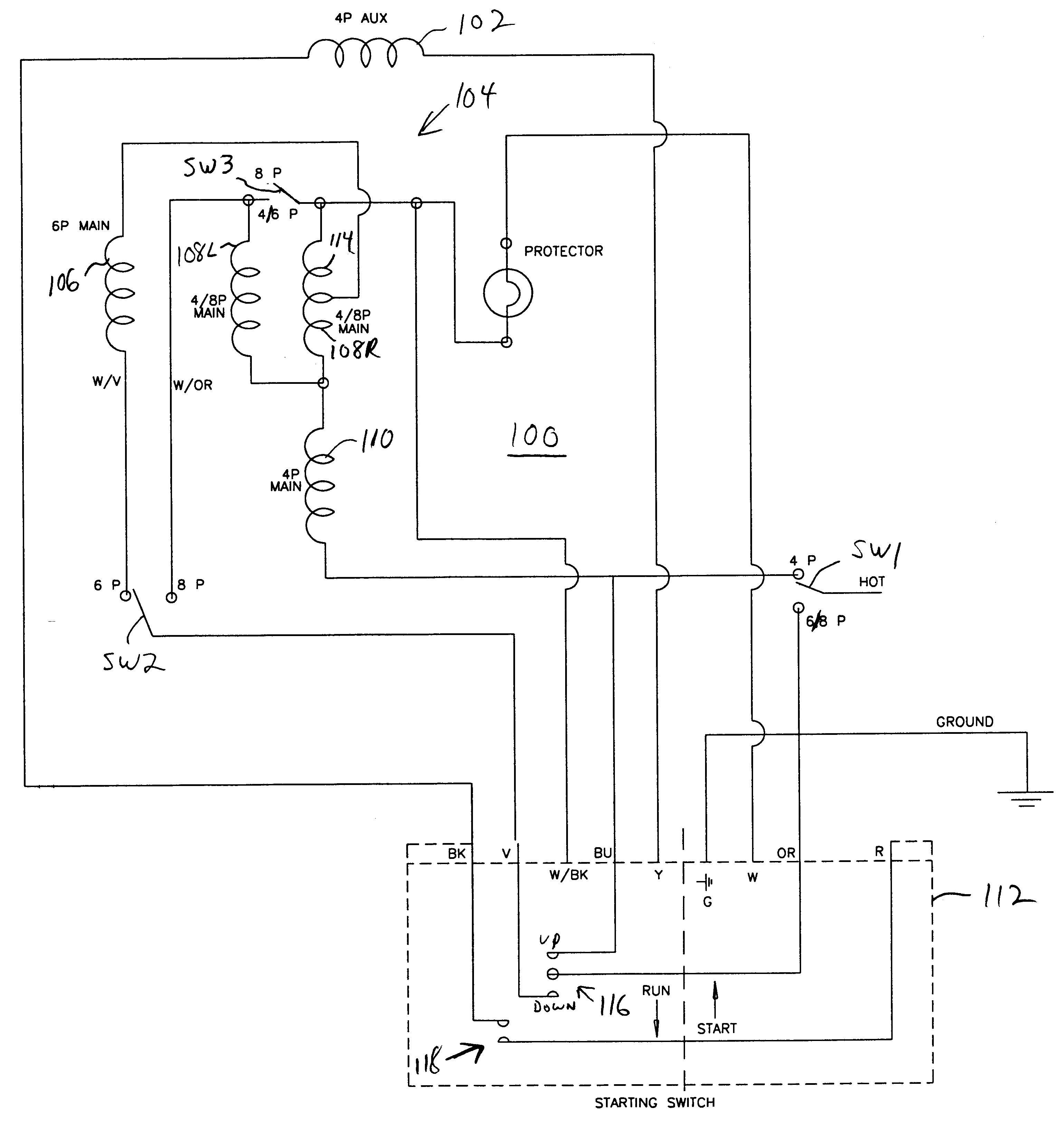 3 Phase Motor Wiring Diagram Luxury 3 Wire Condenser Fan Motor Wiring Diagram Diagram Of 3 Phase Motor Wiring Diagram