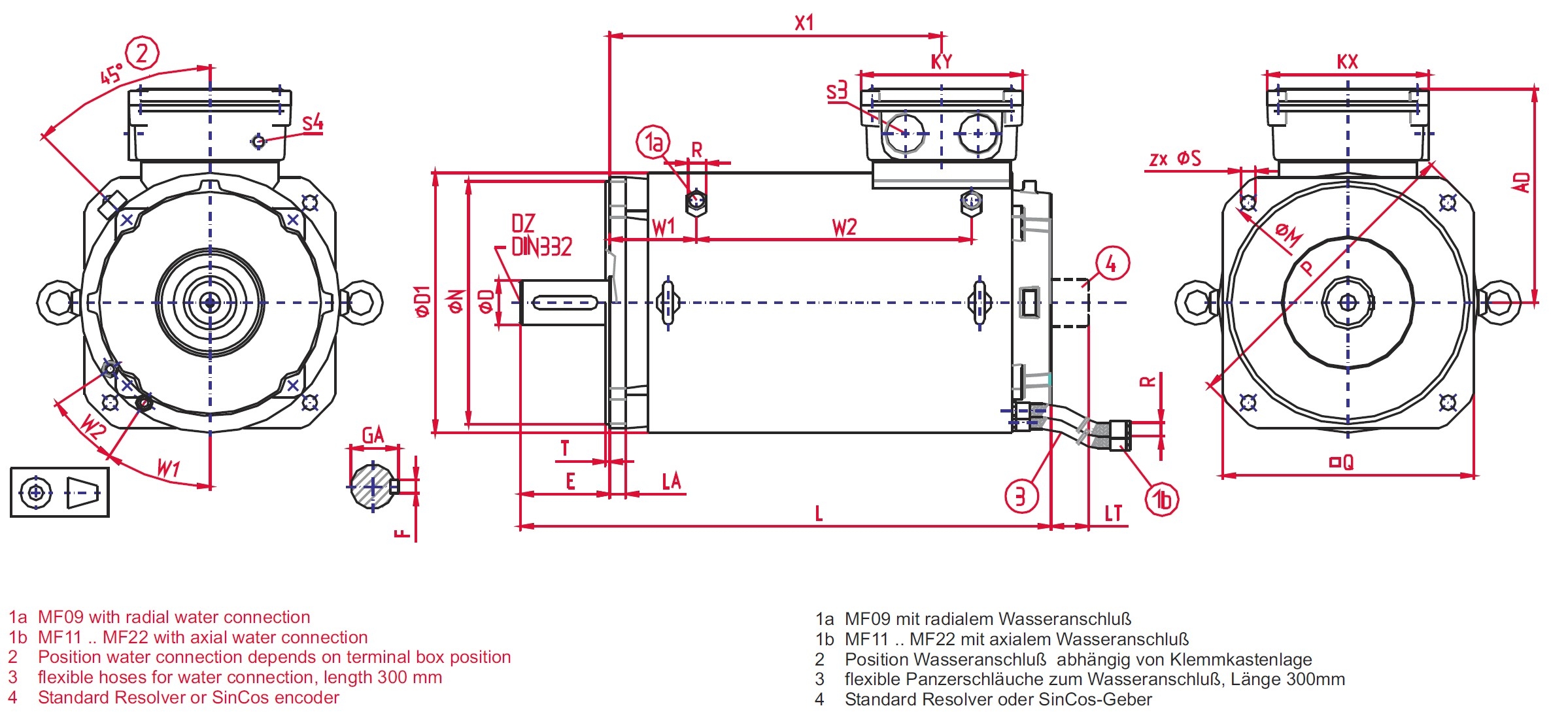 3 Phase Motor Wiring Diagram Electric Baldor To Dayton Oswald Mf Synchronous Motors Ponents Of