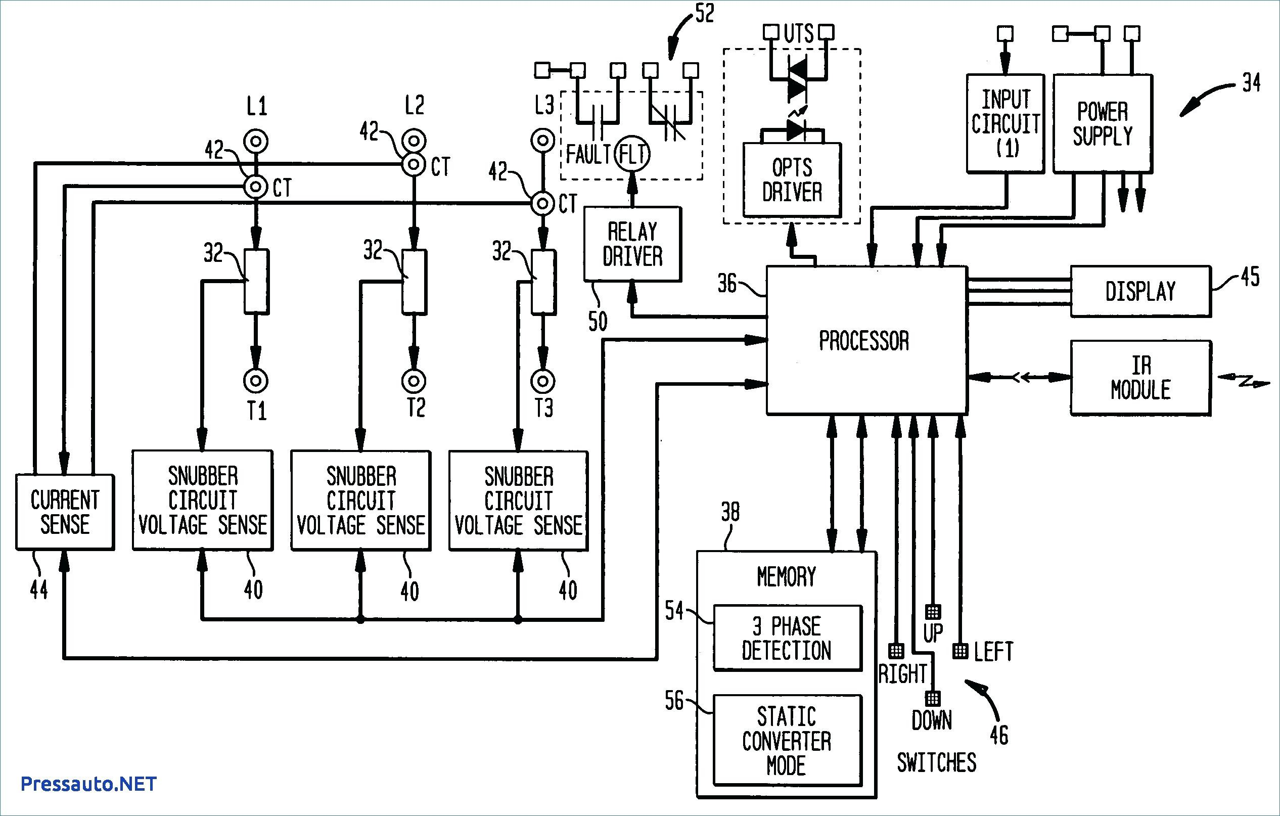 3 Phase to Single Phase Wiring Diagram Brevetto Us Transformerless ...