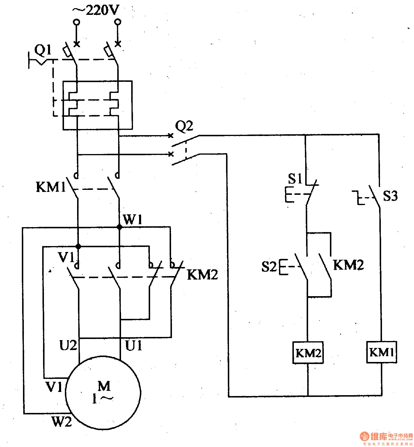 3 Phase to Single Phase Wiring Diagram Wiring Diagram Single Phase ...
