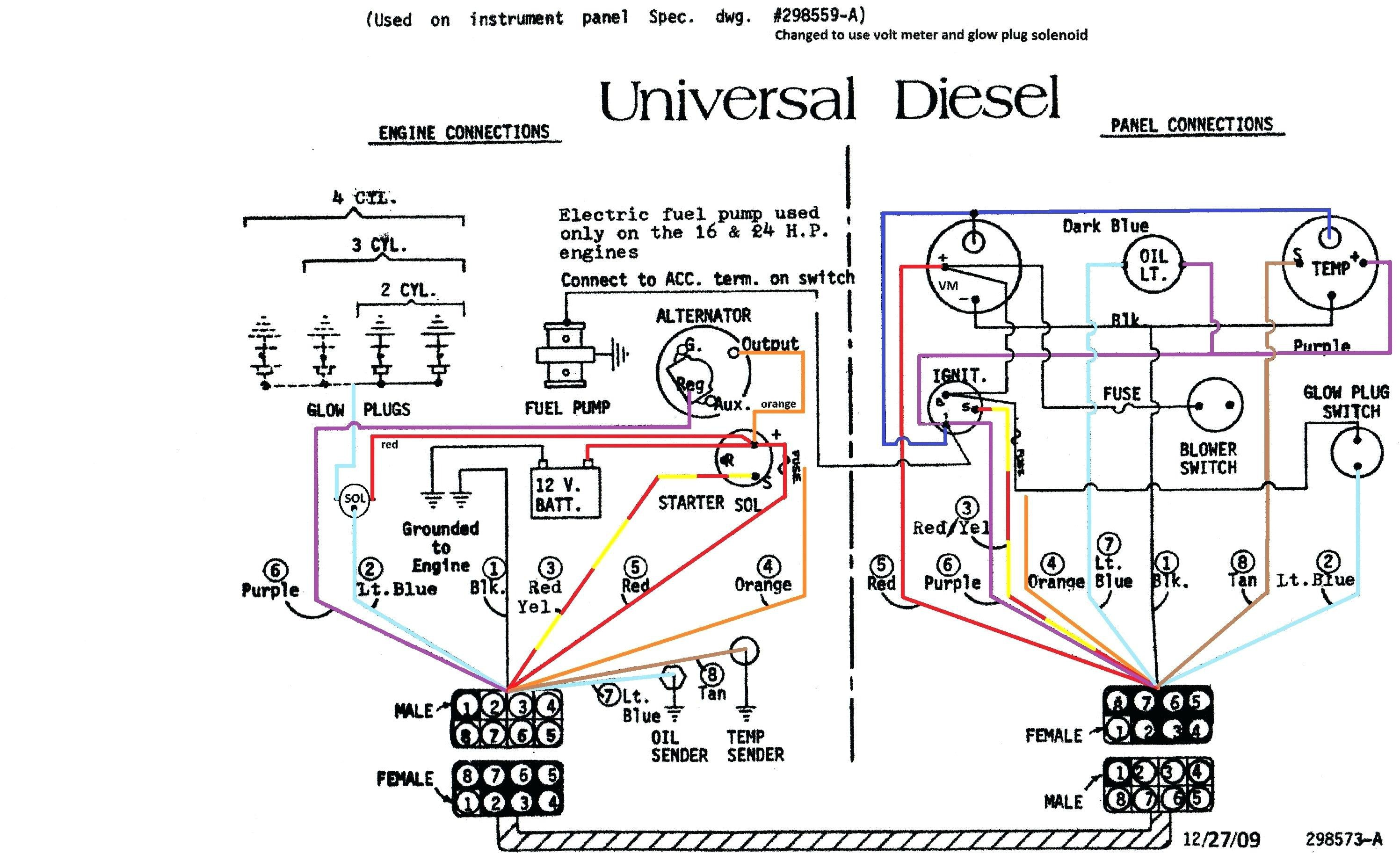 3 Wire Alternator Wiring Diagram Awesome 3 Wire Alternator Wiring Diagram  Diagram