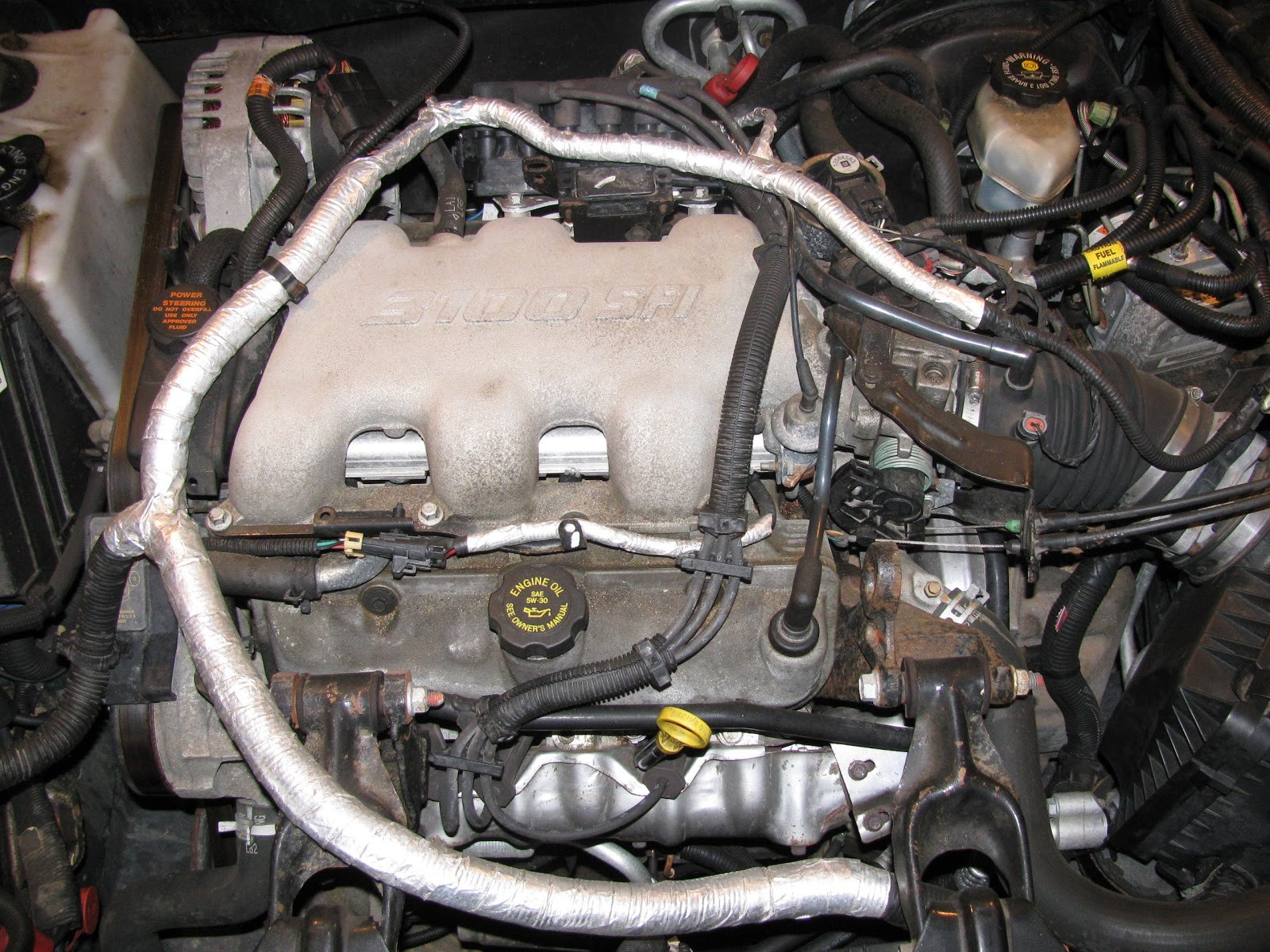 3 8l Engine Diagram Buick Wiring Library 3800 V6 The Original Mechanic 1l Gm Replacing Intake Manifold Of