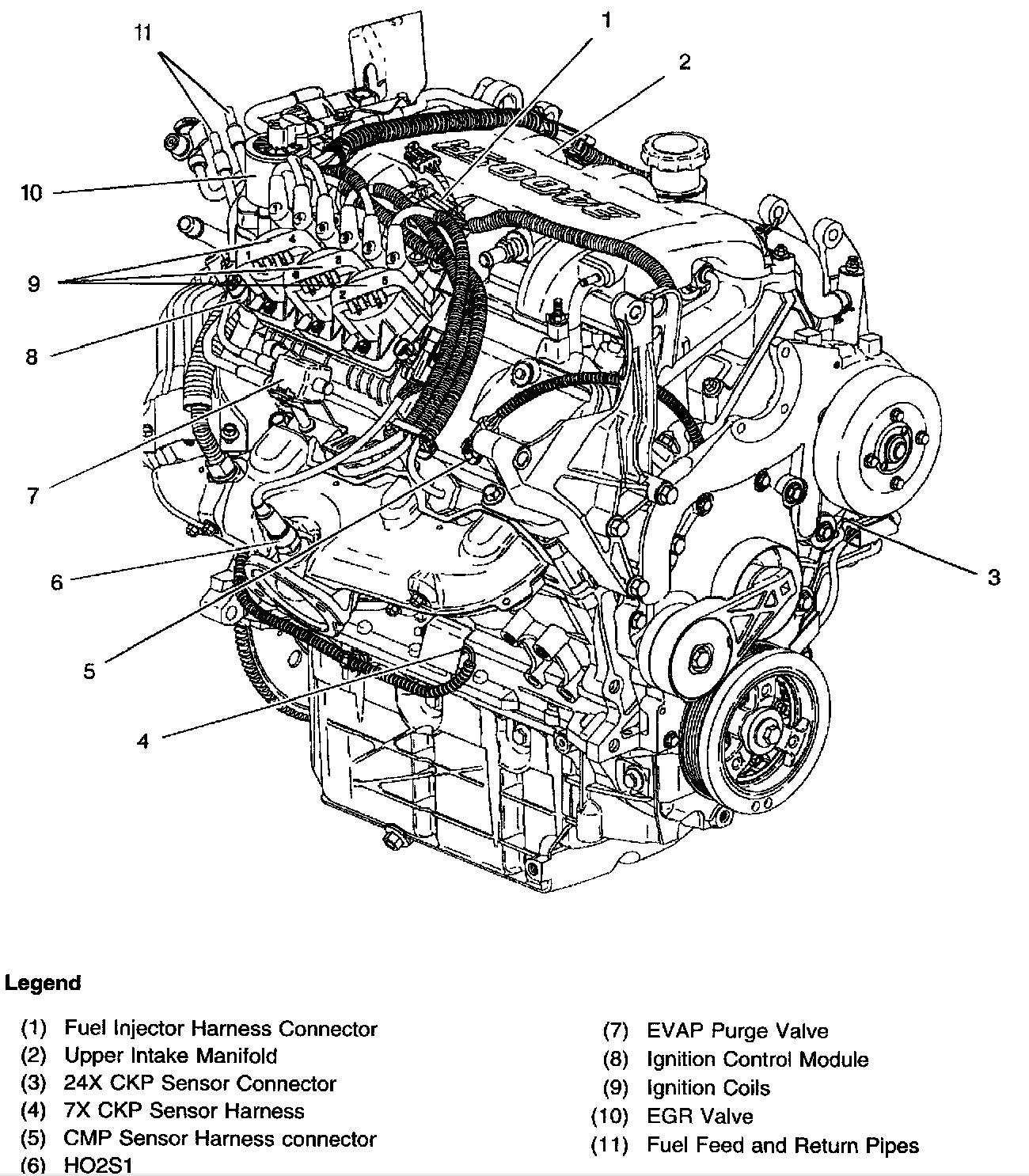 3800 v6 engine diagram