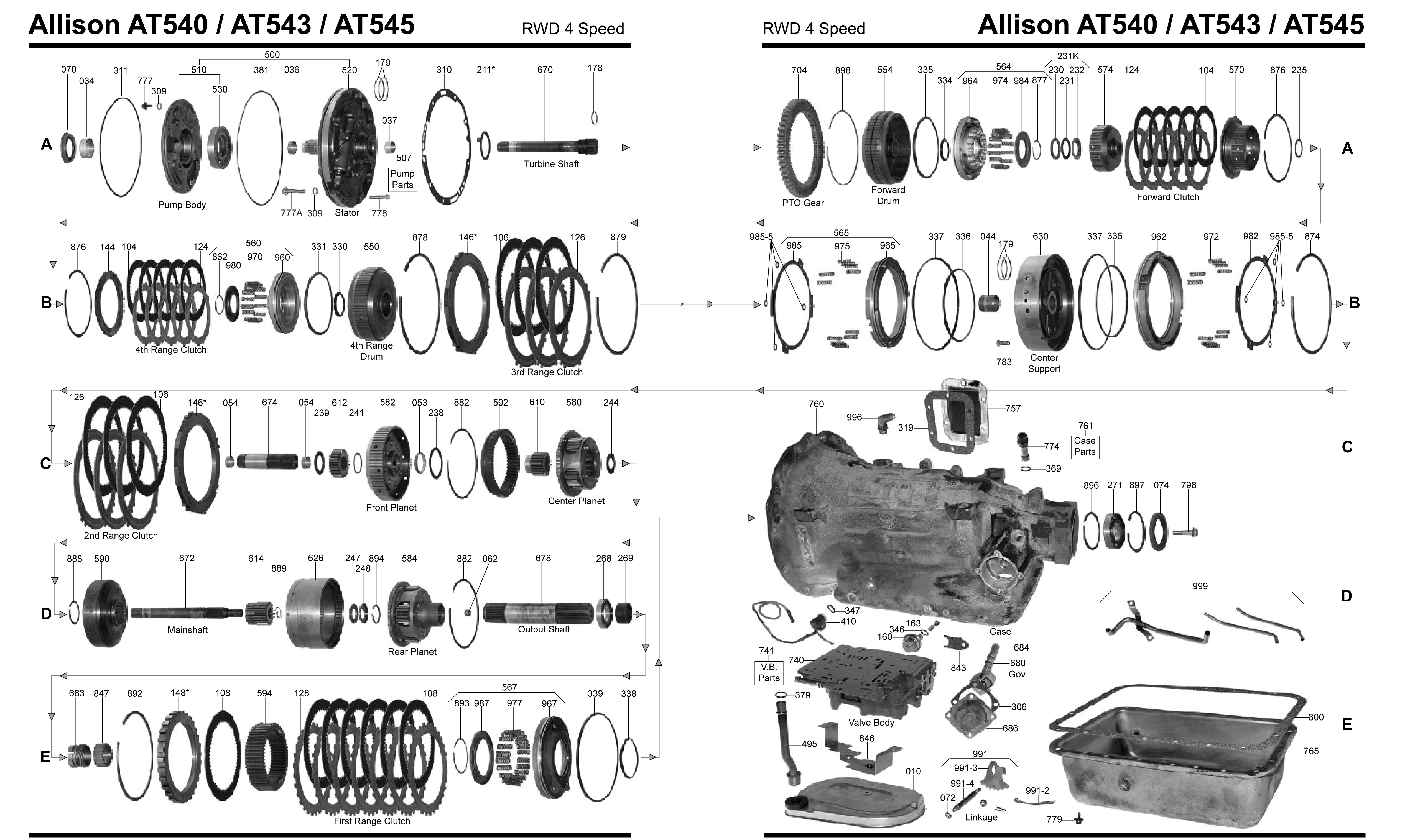 Diagram In Addition 4l60e Transmission Exploded View Diagram On 4l60e