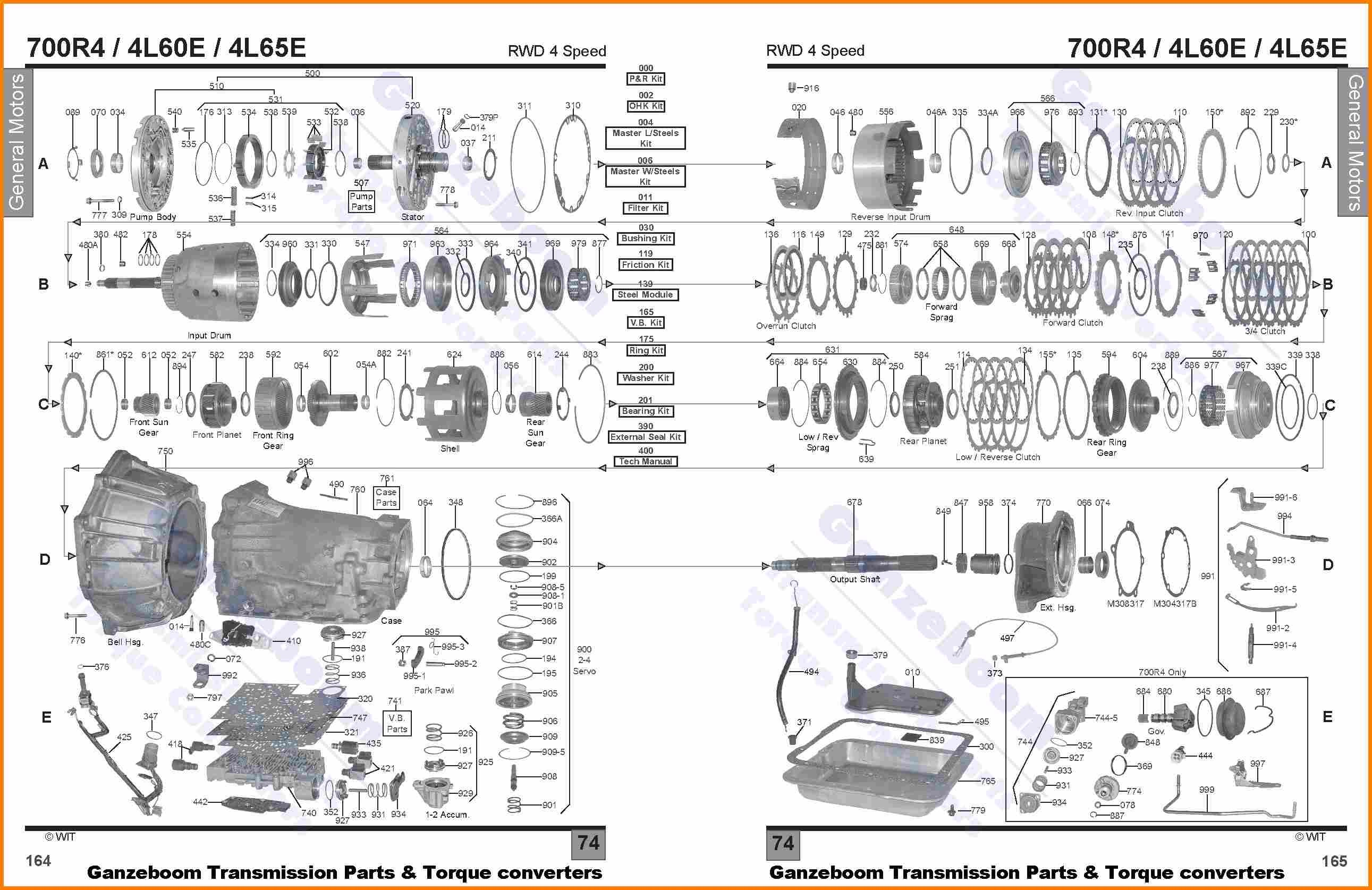 4l60 parts diagram wiring diagram