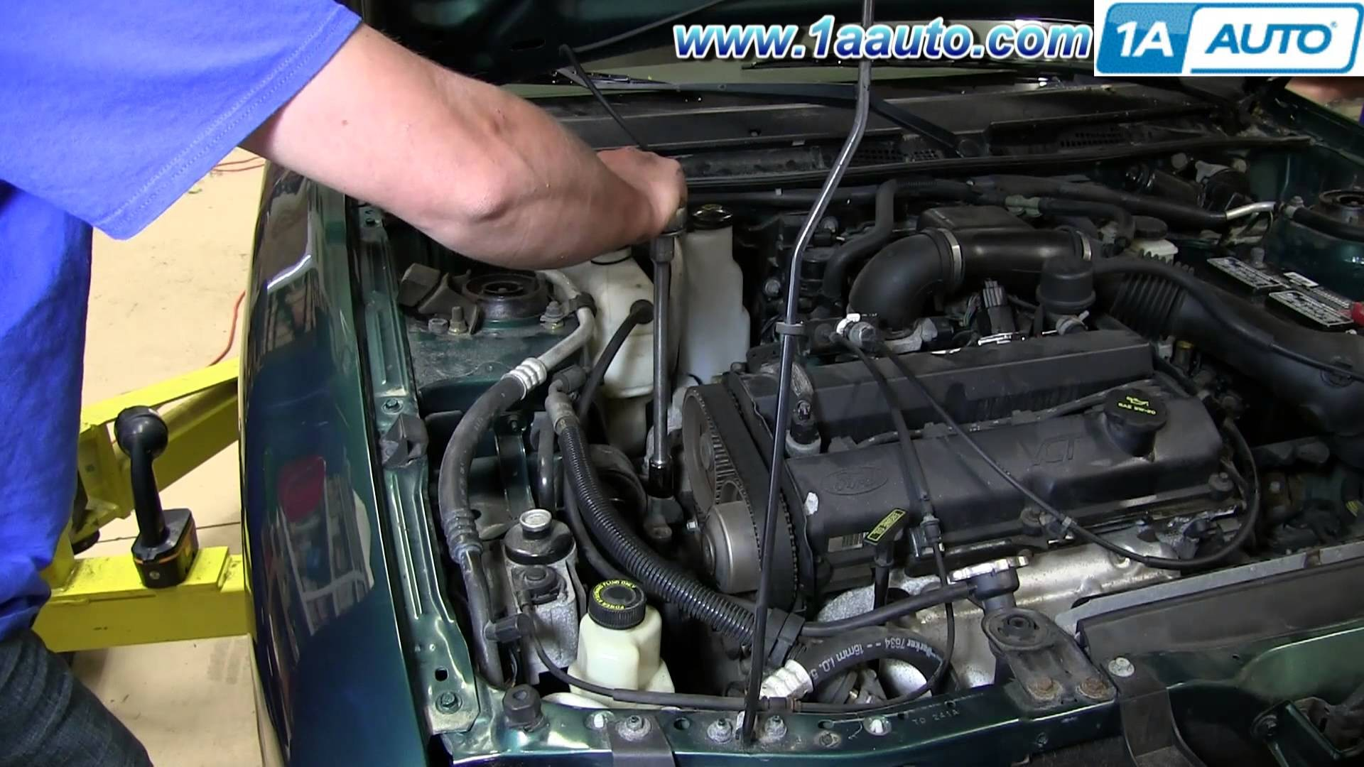 97 Ford Escort Engine Diagram My Wiring Ranger 4 0 Bracket How To Install Replace Upper Mount 1998 03