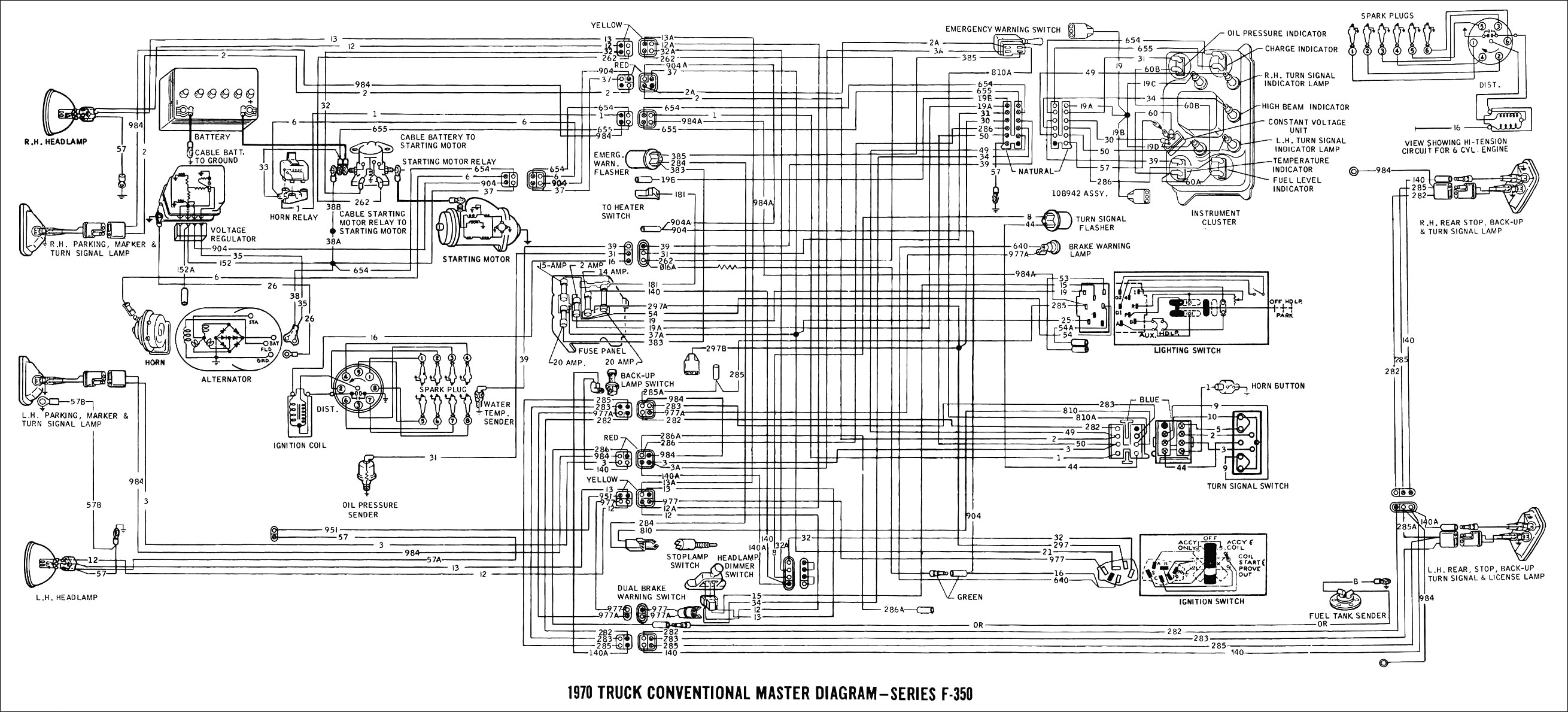 97 ford ranger engine diagram