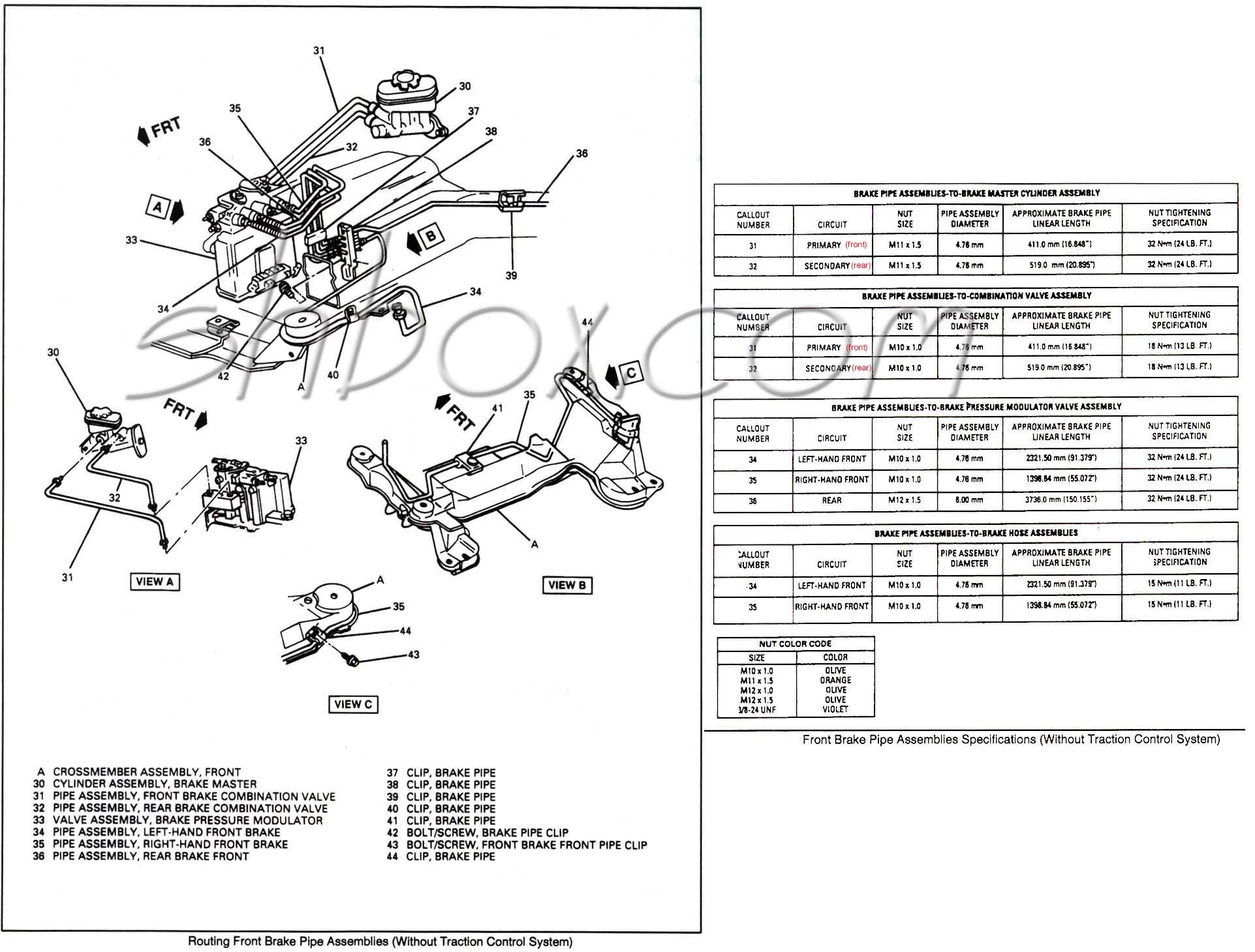 Abs Brake System Diagram Circuit Maker Arduino Gen F Body Proportioning Valve Wiring Valves And Line Locks Page 3 Of