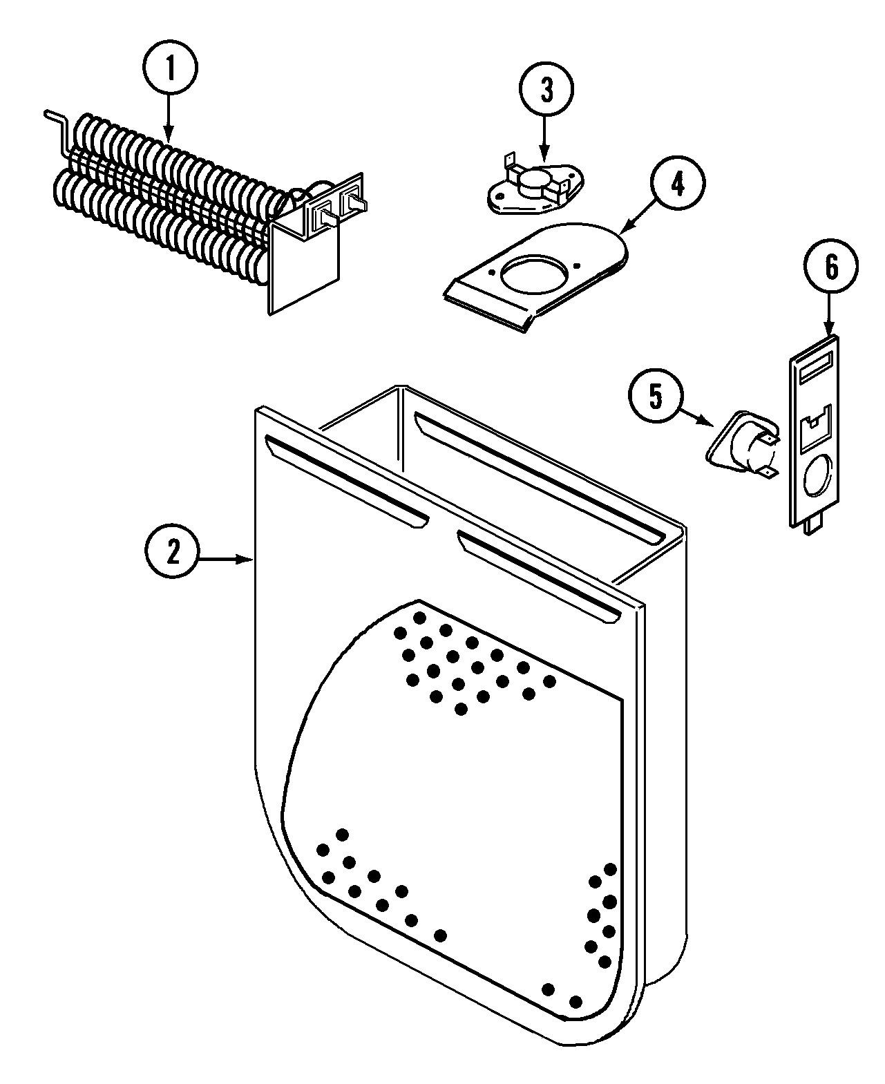 Admiral Dryer Parts Diagram Admiral Model Adg7000aww Residential Dryer Genuine Parts Of Admiral Dryer Parts Diagram