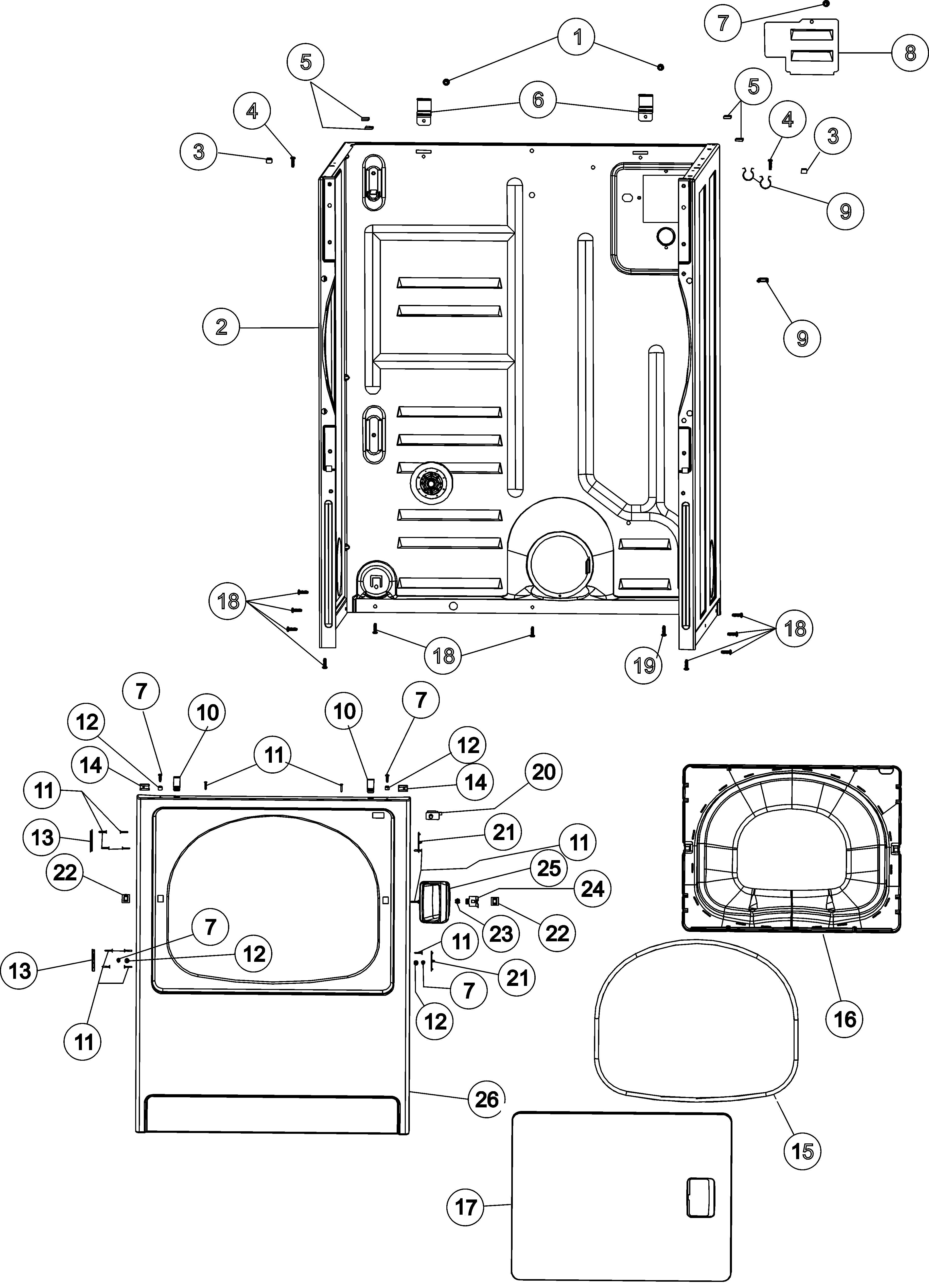 Admiral Dryer Parts Diagram Admiral Model Adg7005aww Residential Dryer Genuine Parts Of Admiral Dryer Parts Diagram