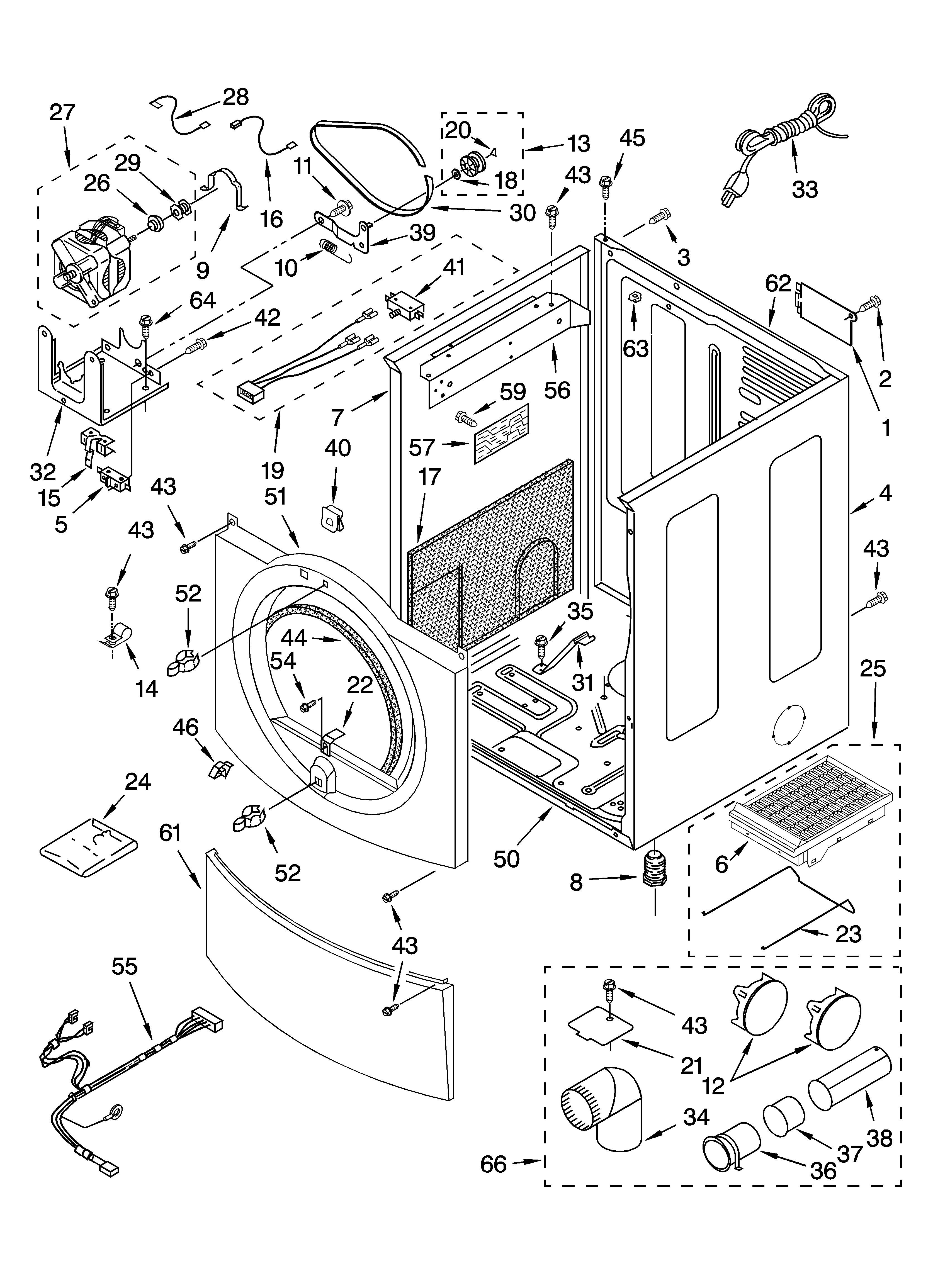 Admiral Dryer Parts Diagram Kenmore Elite Model Residential Dryer Genuine Parts Of Admiral Dryer Parts Diagram