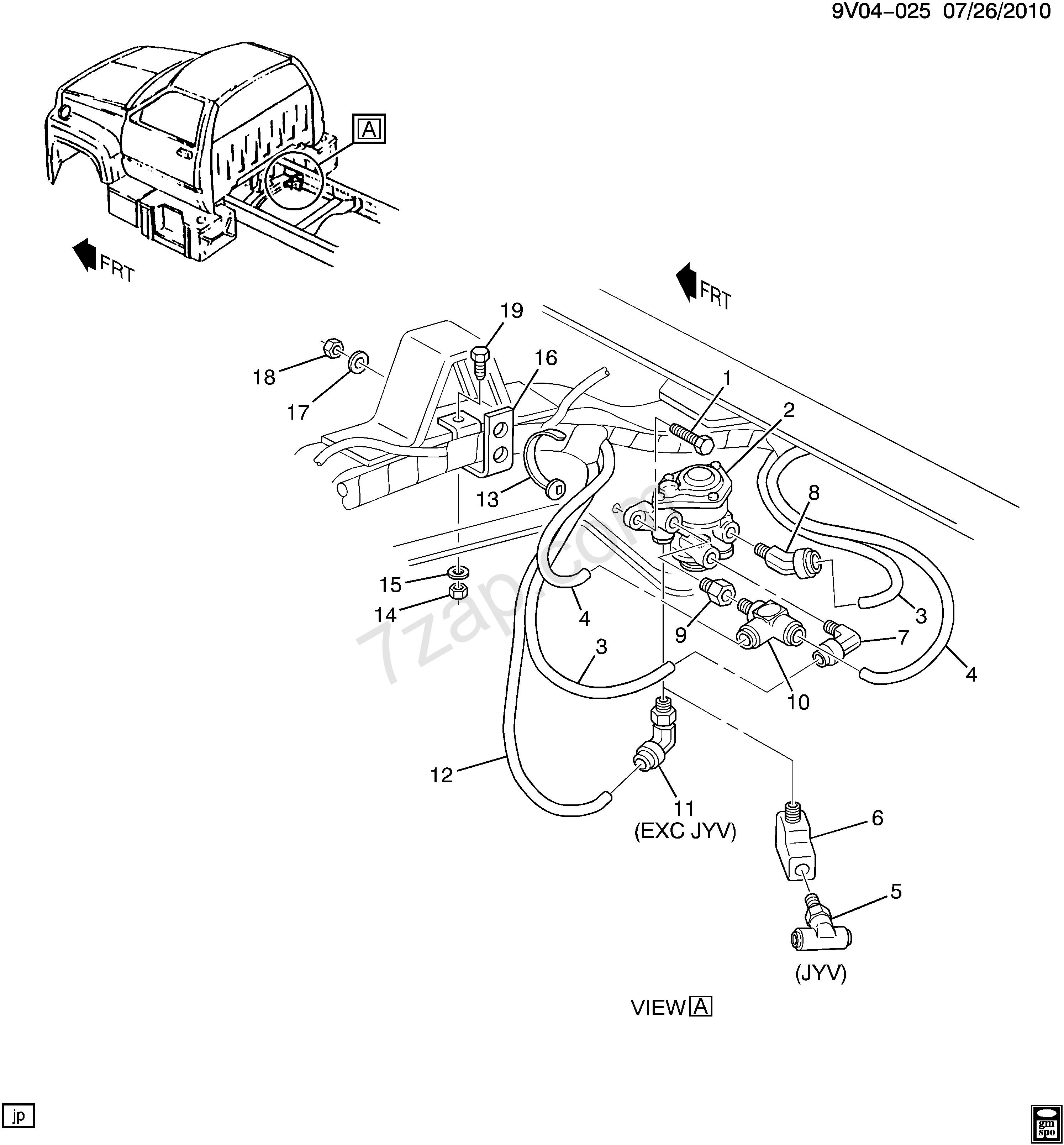 Air Brake Parts Diagram 2002 2008 C6h0 7h0 42 Air Brake Park Control Valve Mounting to Of Air Brake Parts Diagram