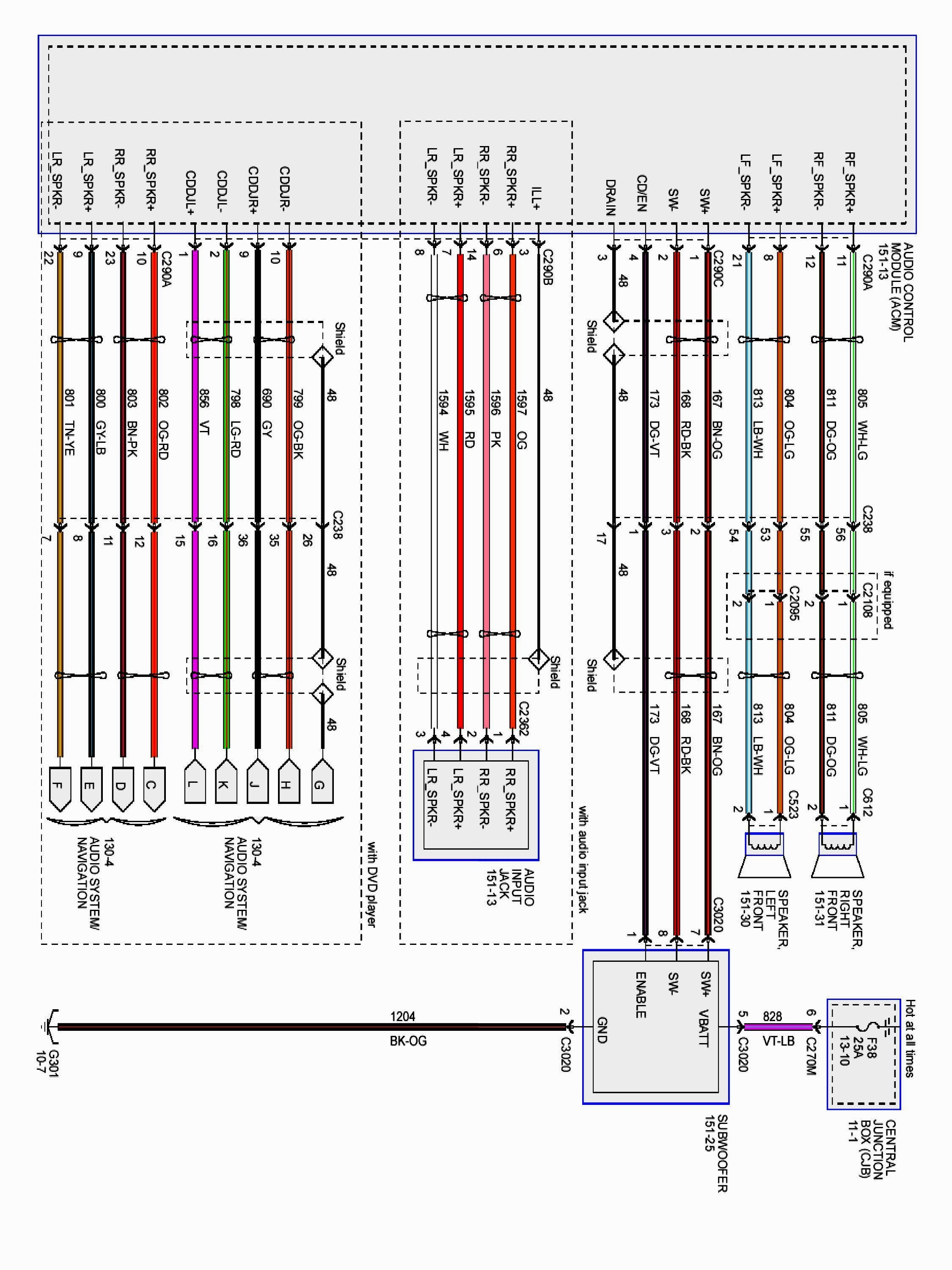 WRG-1669] For Sirius Radio Wiring Diagram