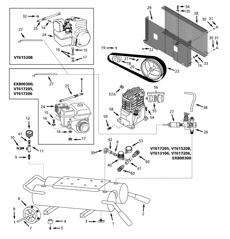Aluminum Window Parts Diagram Campbell Hausfeld Air Pressor Parts Of Aluminum Window Parts Diagram