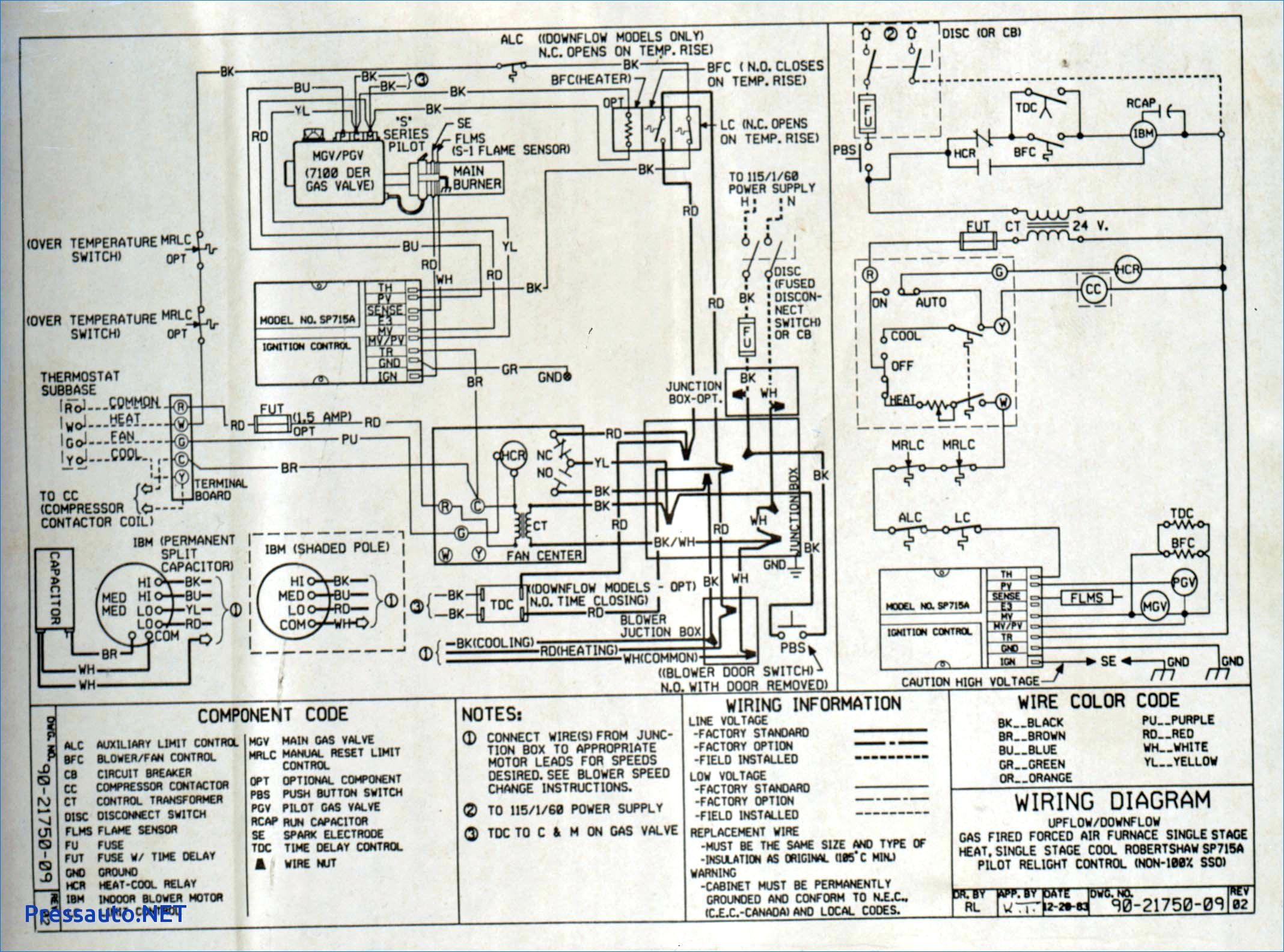 American Standard Furnace Wiring Diagram American Standard Furnace Wiring Diagram Diagrams Heat Pump Ac Unit Of American Standard Furnace Wiring Diagram
