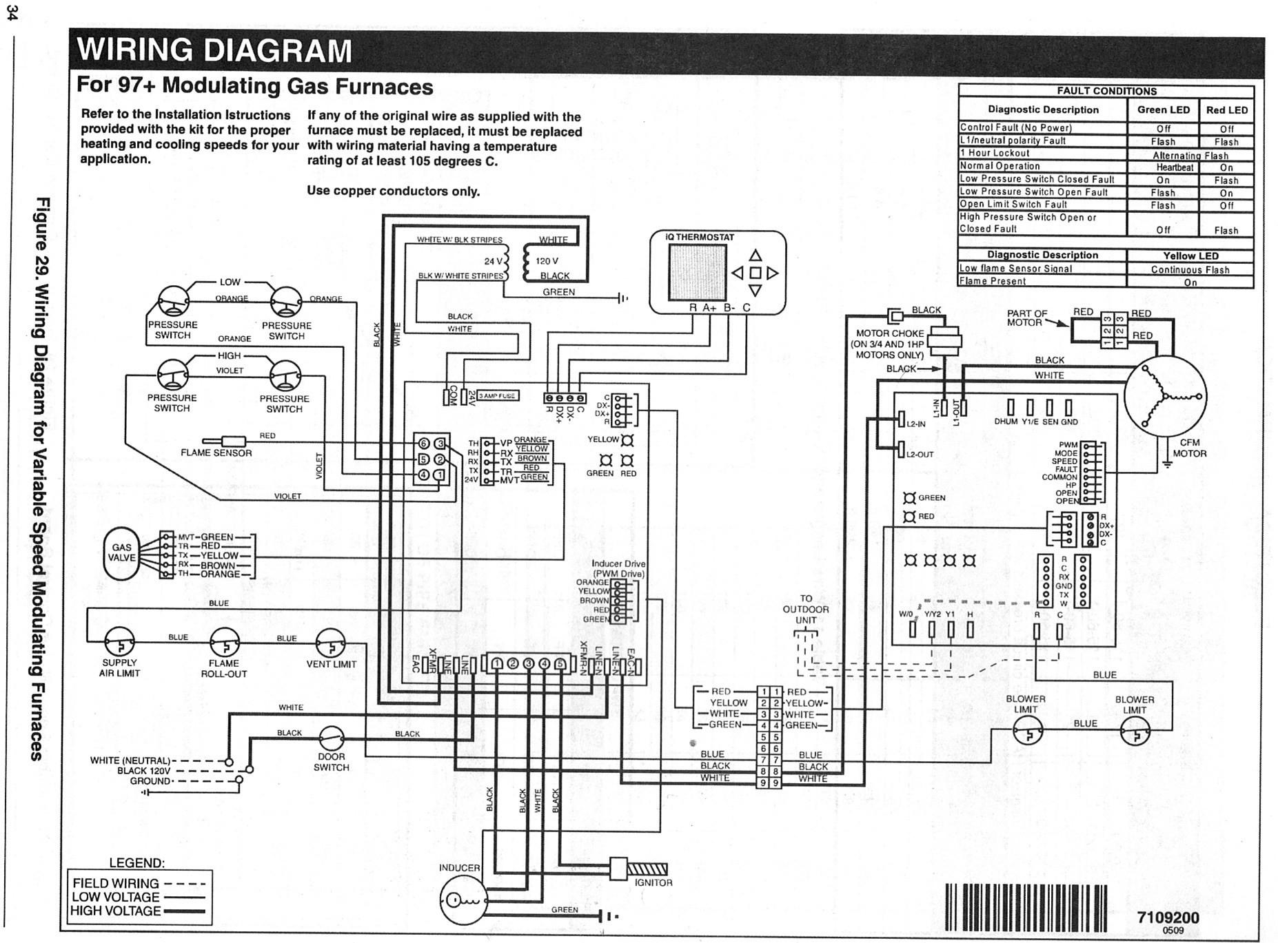 American Standard Furnace Wiring Diagram Beautiful American Standard ...