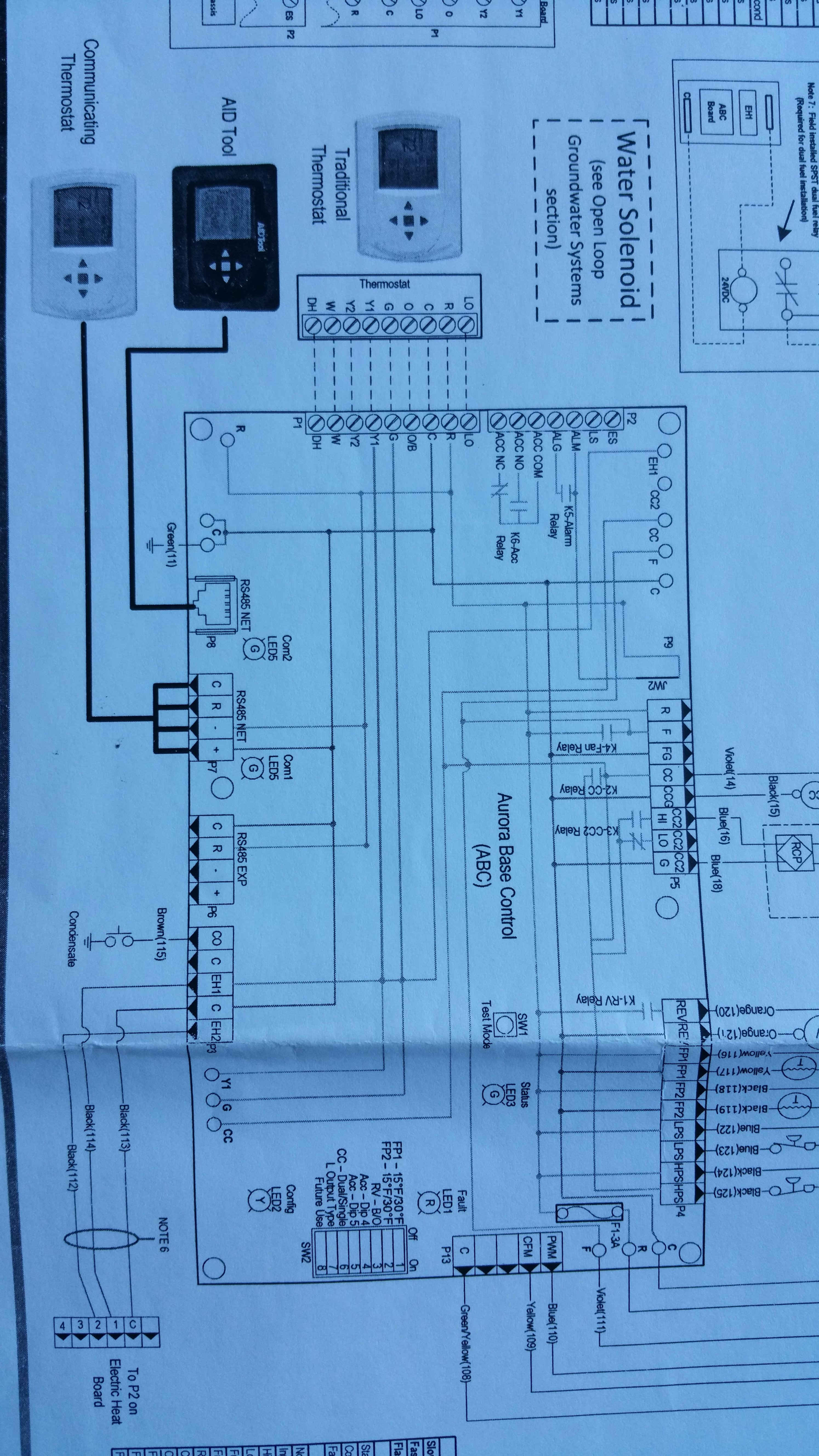 Aprilaire 600 Wiring Diagram Wireing An Aprilaire 700 to Waterfurnace 5 Of Aprilaire 600 Wiring Diagram