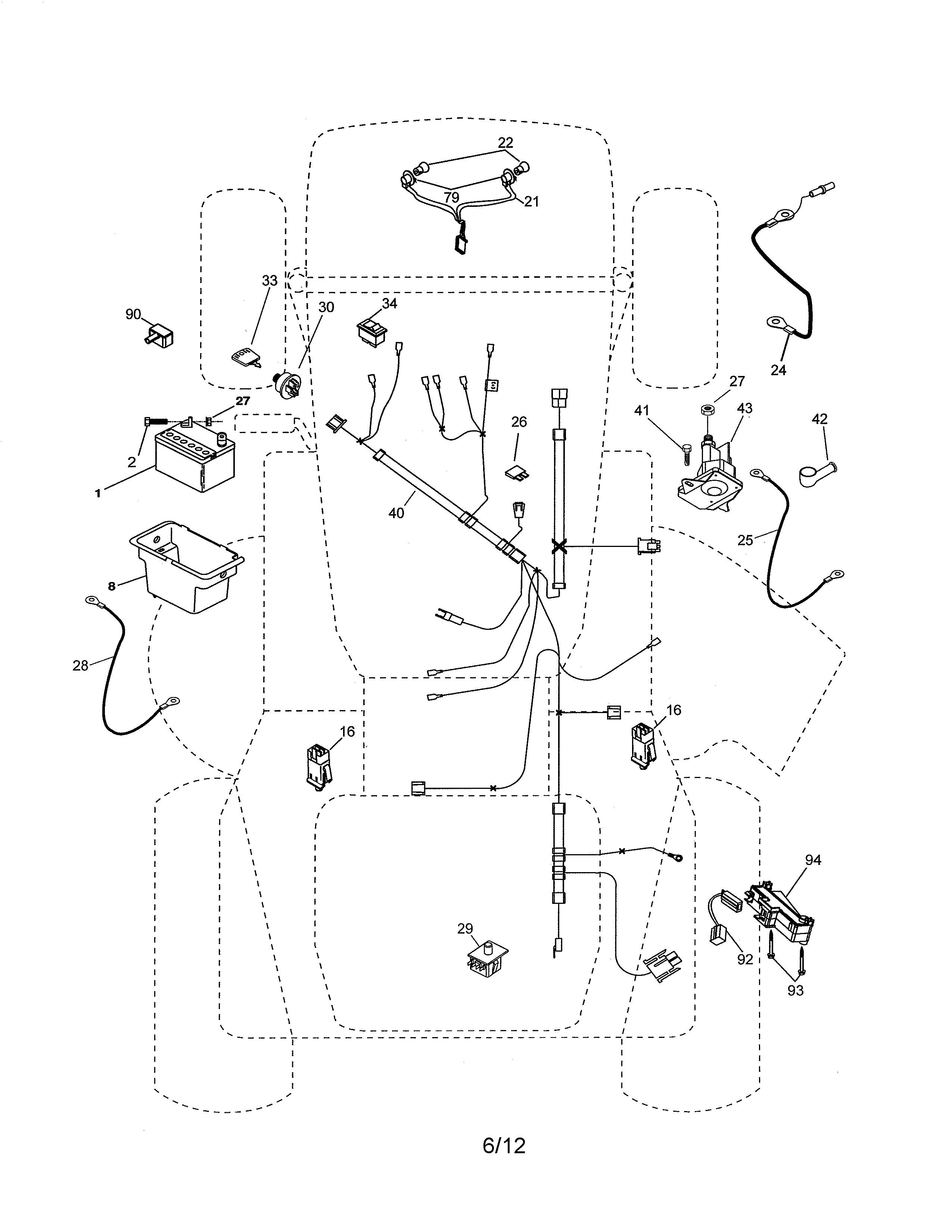 ariens lawn mower parts diagram