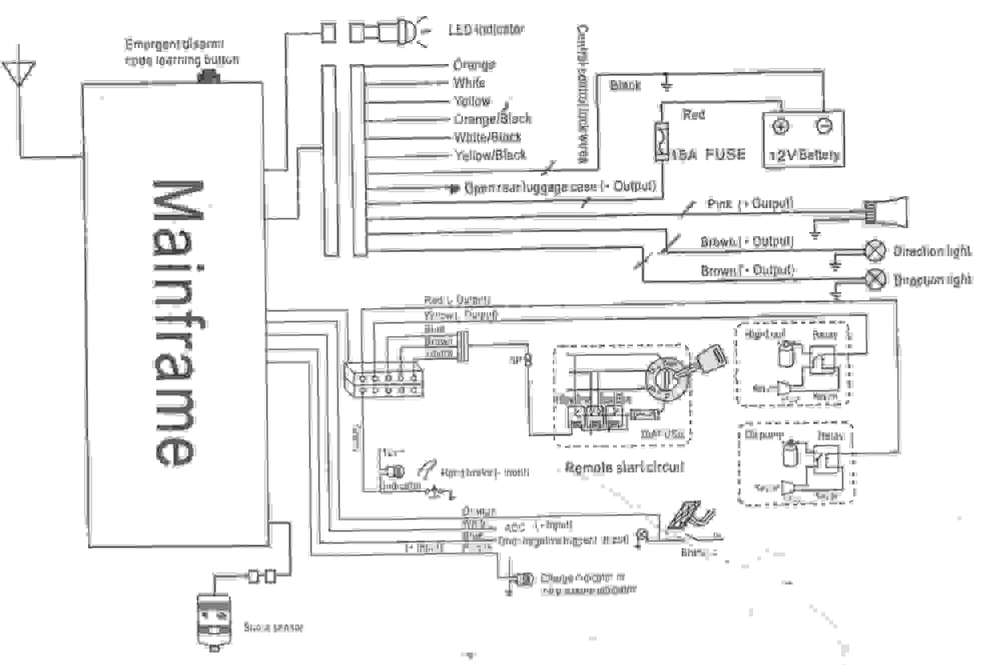 Audiovox Wiring Tech Diagram