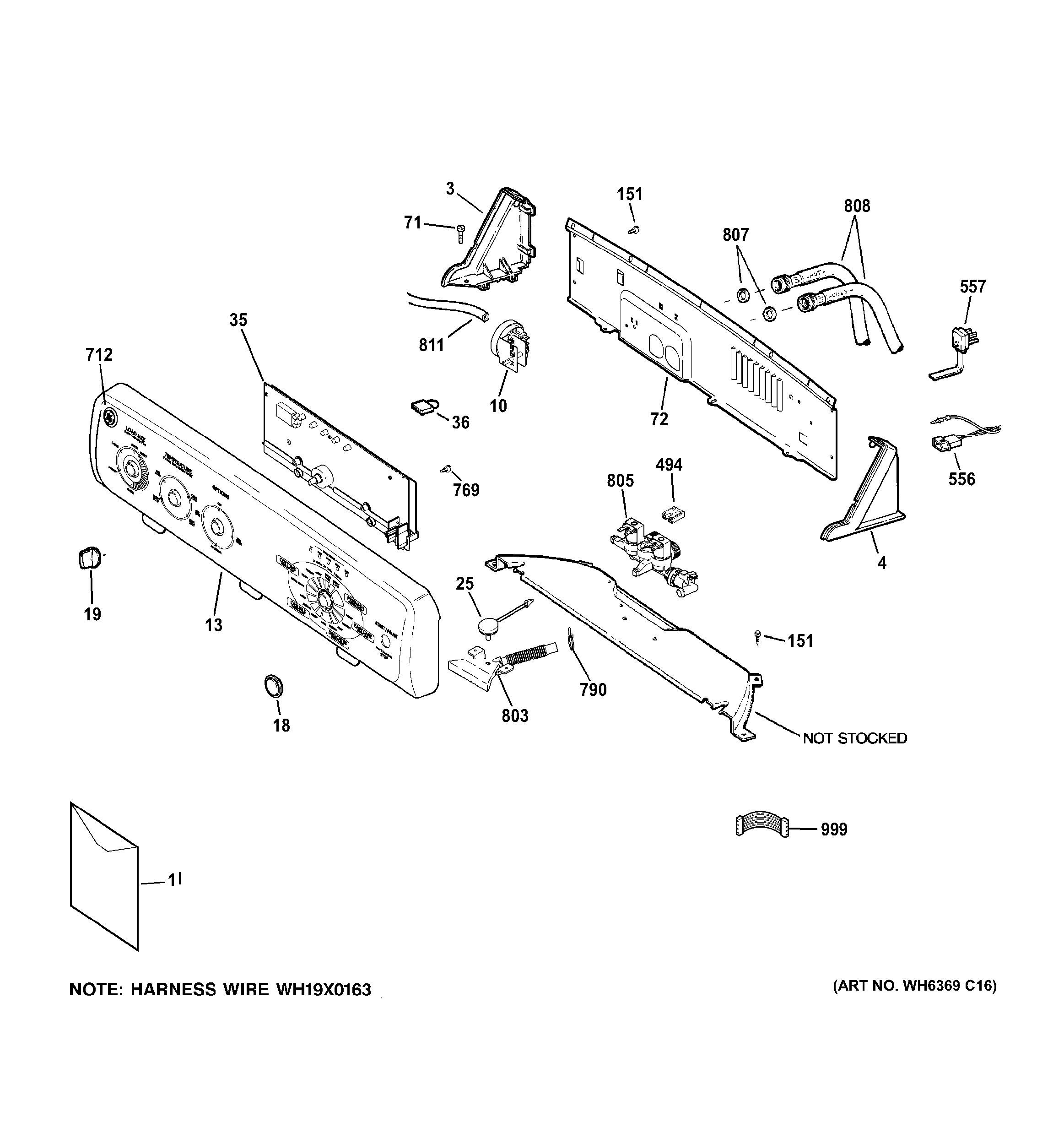 Auto Parts Diagram Ge Model Gcwn4950d2ws Residential Washers Genuine Parts Of Auto Parts Diagram