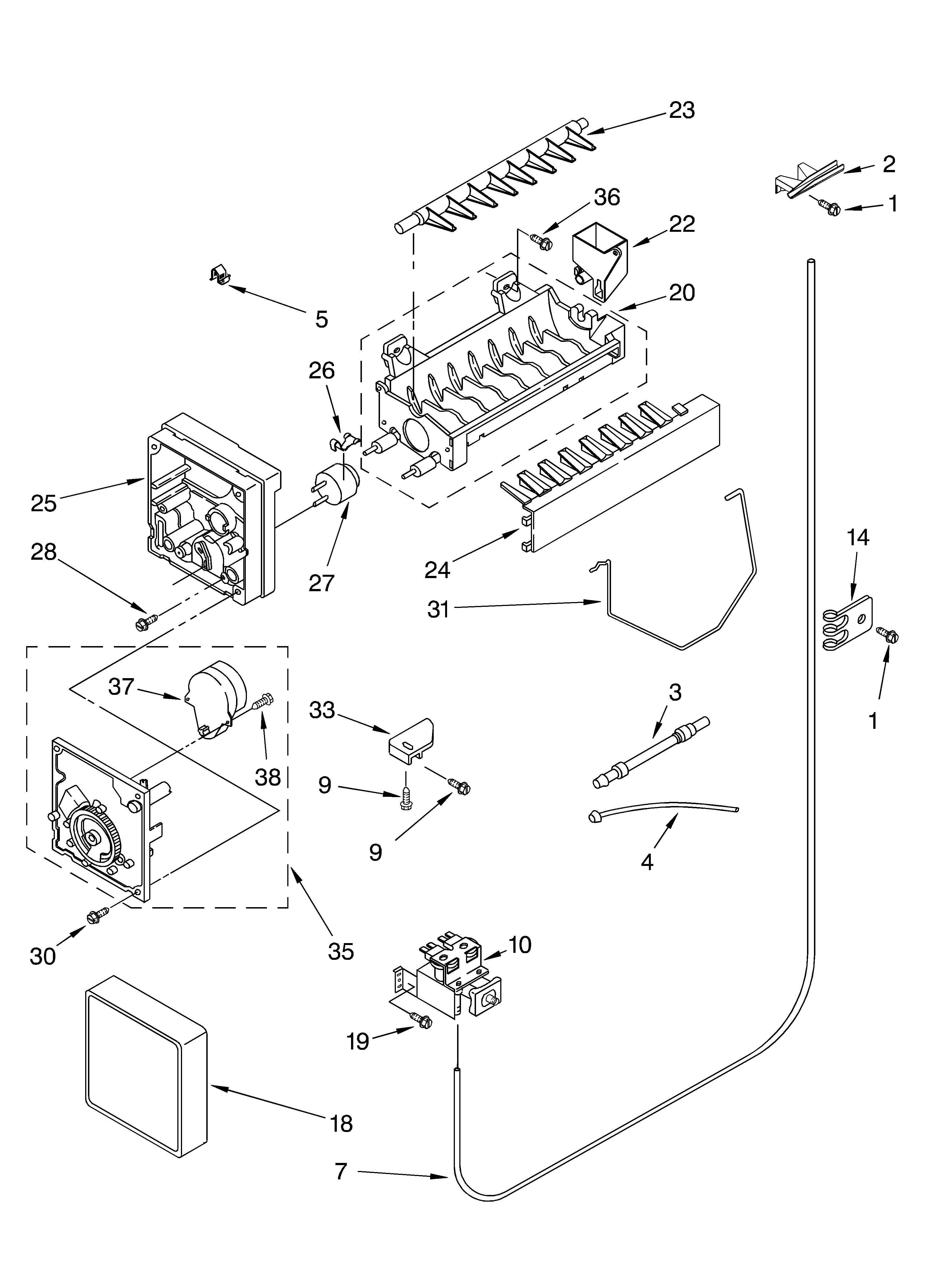Auto Parts Diagram Kirkland Refrigerator Parts Model Ss25afxmq00 Of Auto Parts Diagram