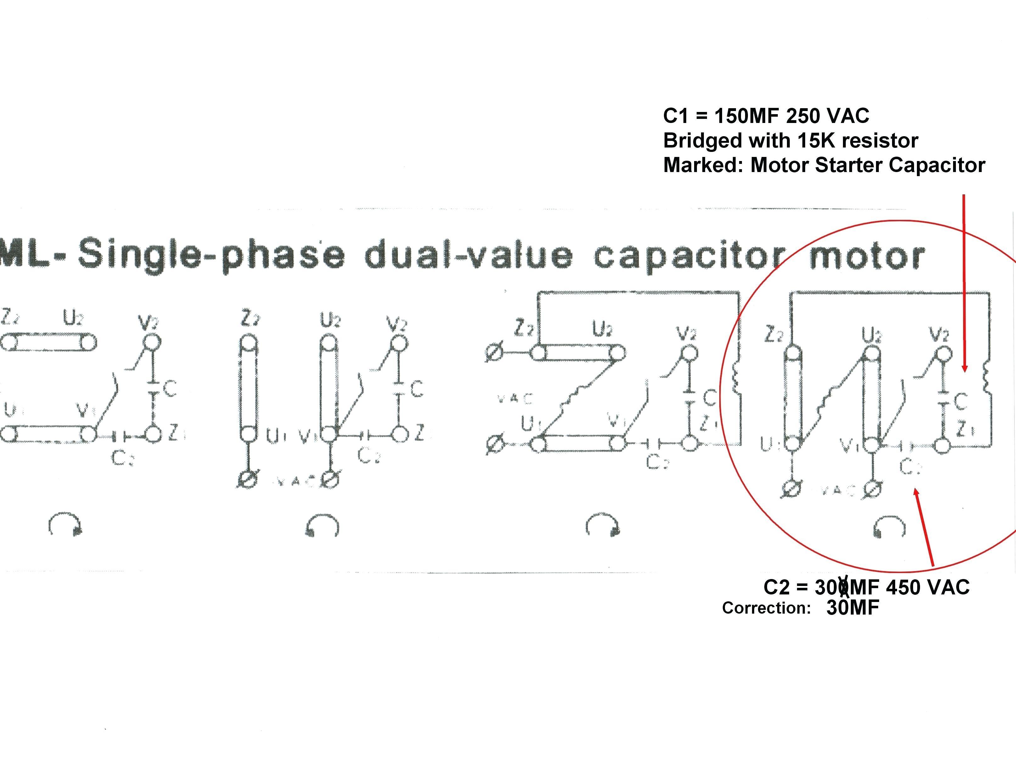 Baldor Motor Capacitor Wiring Diagram Motor Wiring Diagram Baldor Single Phase This is A Picture Motors Of Baldor Motor Capacitor Wiring Diagram