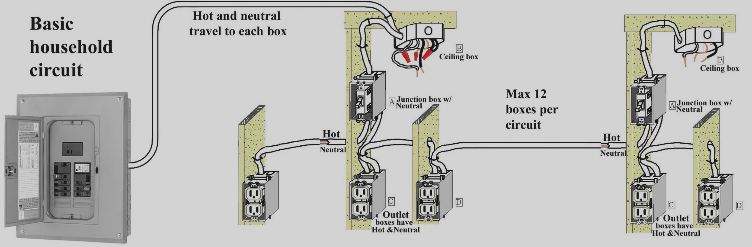 Basic Home Wiring Diagrams Trend Basic Household Wiring Diagram Switch Nz Bathroom