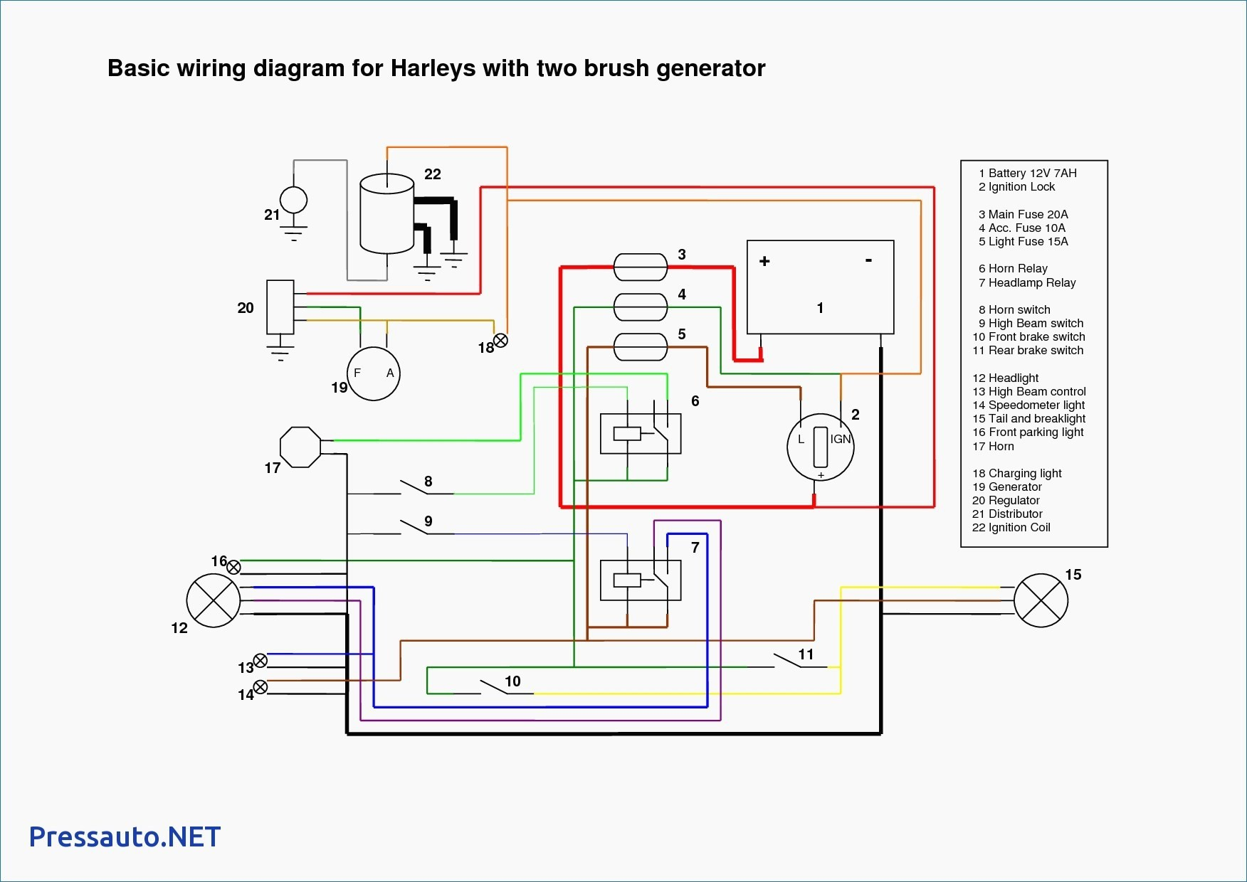 Simple Ignition Wiring Diagram Wiring Diagram