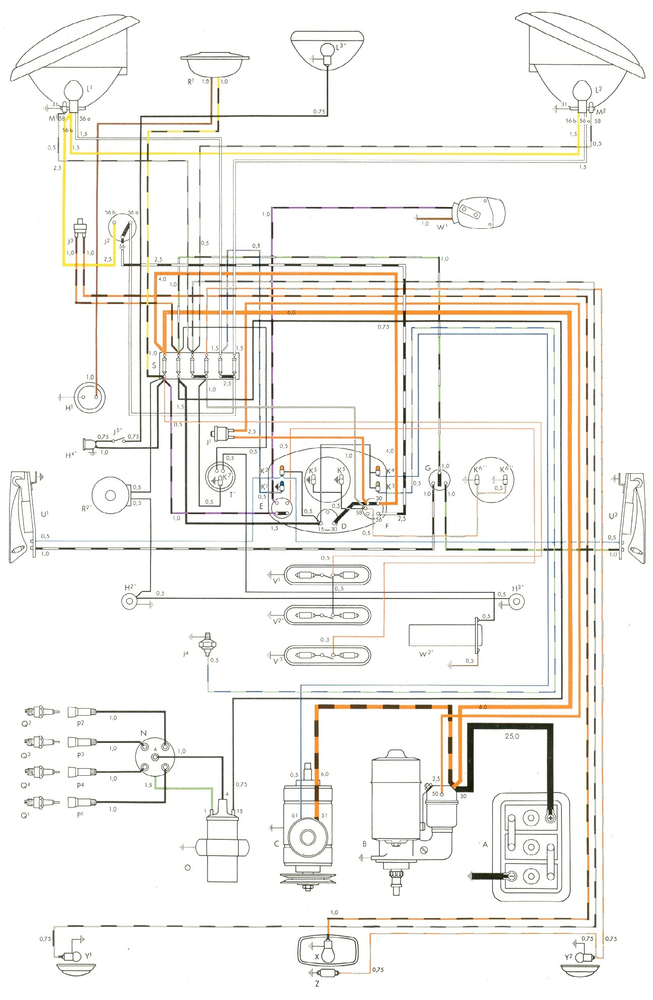 Vw engine wiring diagram residential electrical symbols beetle engine diagram 1962 vw bug wiring diagram free image wiring rh detoxicrecenze com vw 2e engine wiring diagram vw t25 engine wiring diagram publicscrutiny Choice Image