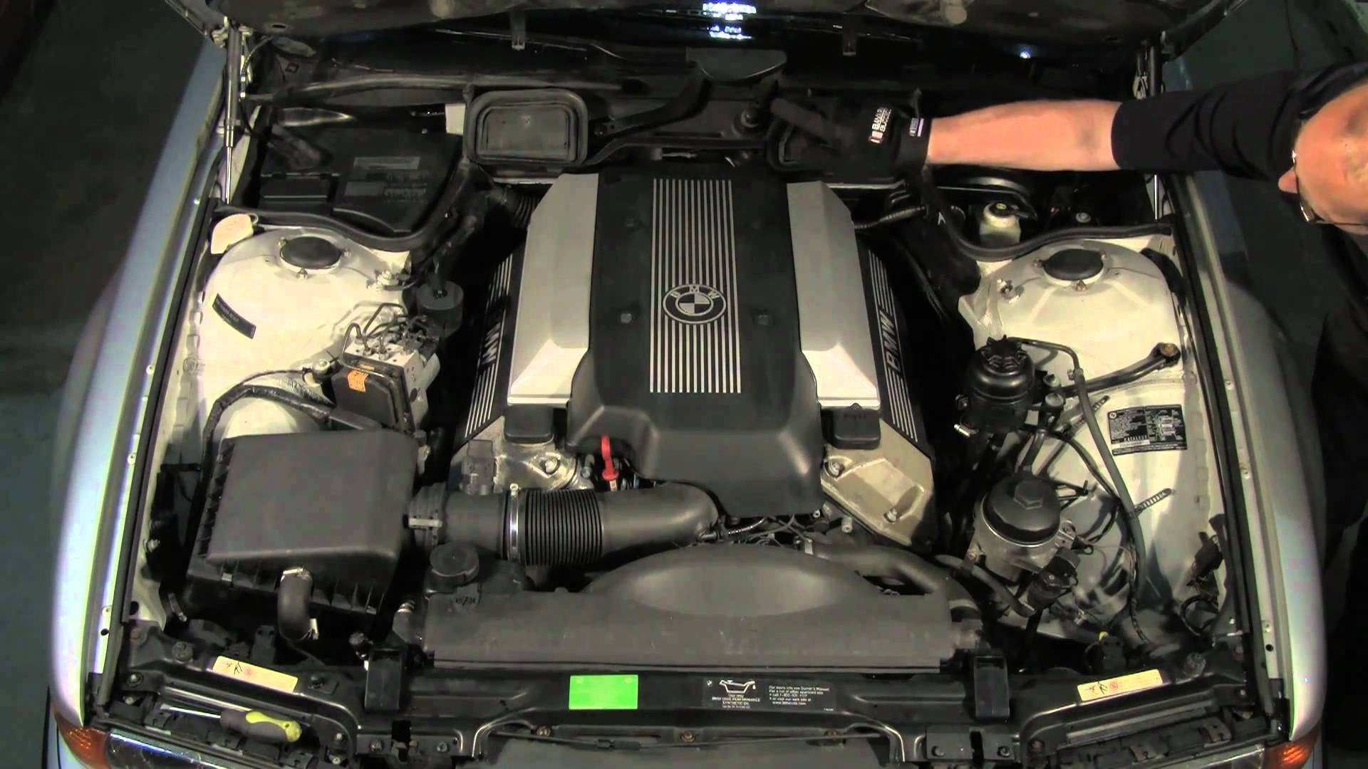 Bmw E39 Engine Diagram 5 Series Abs Asc Module Replacement Under The Hood A 7 95 Thru 01 E38 Of
