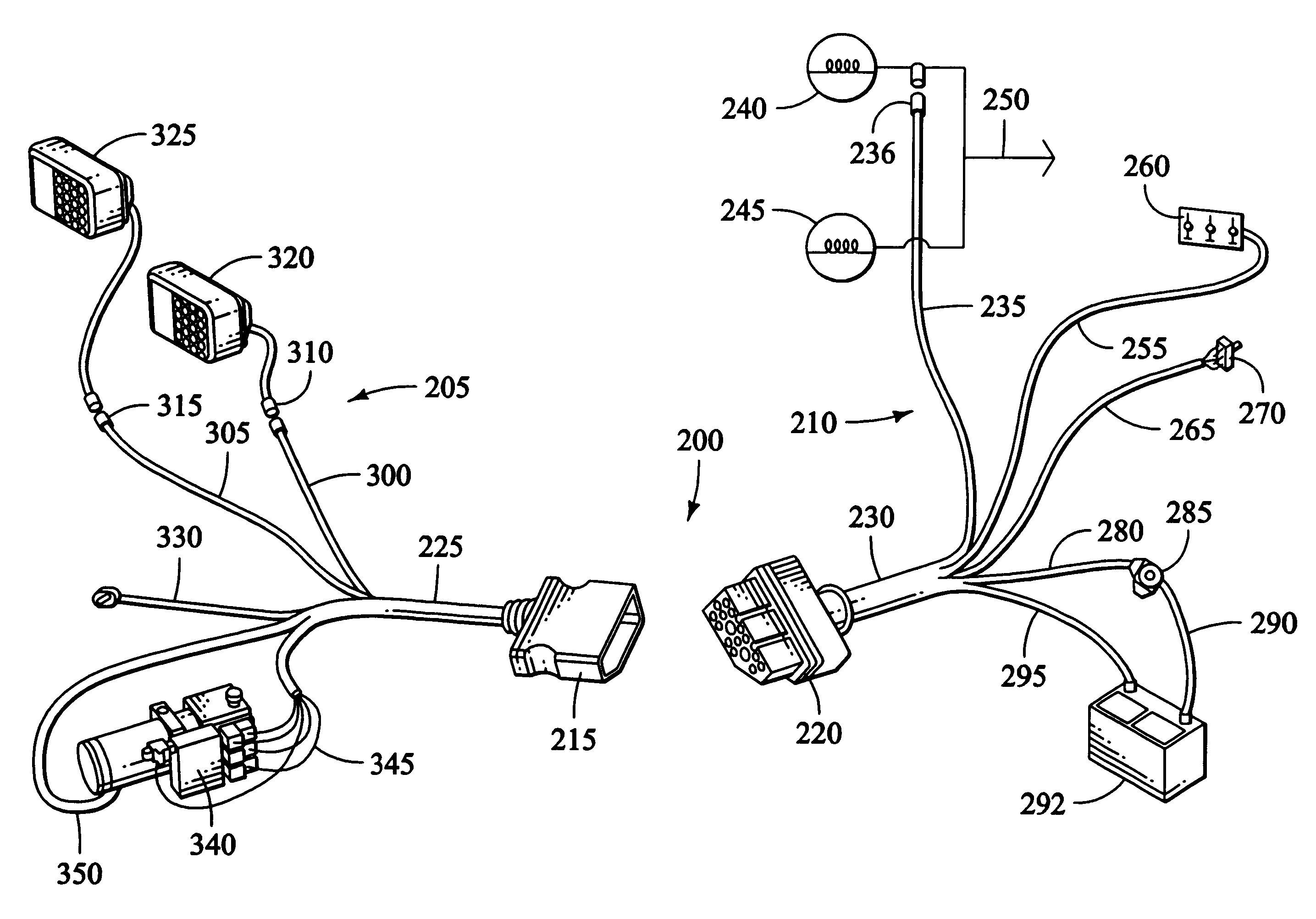 boss plow wiring diagram truck side