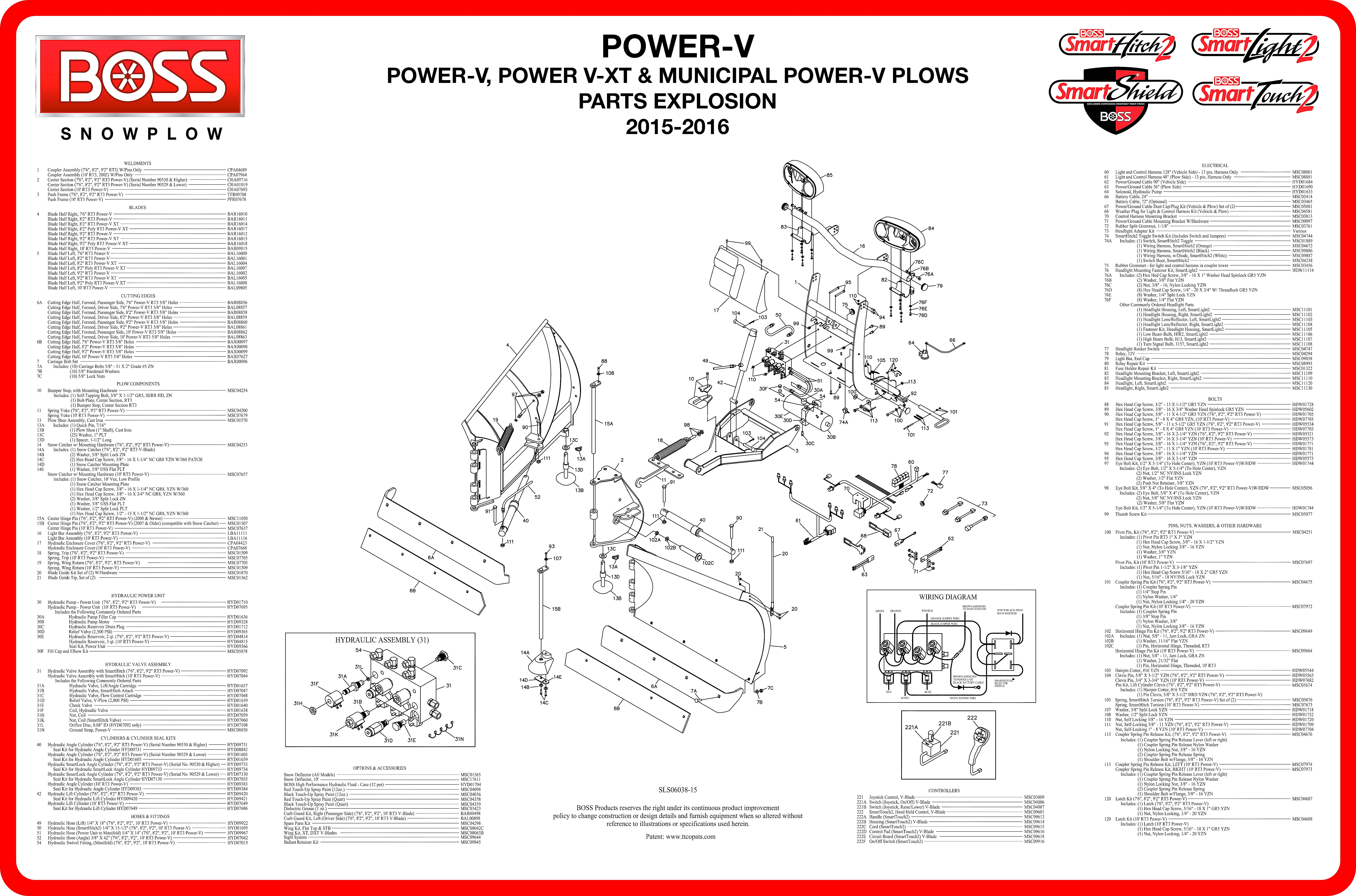 Boss Plow Wiring Diagram Truck Side Car Pentair Wiring Diagram Lx80 ...