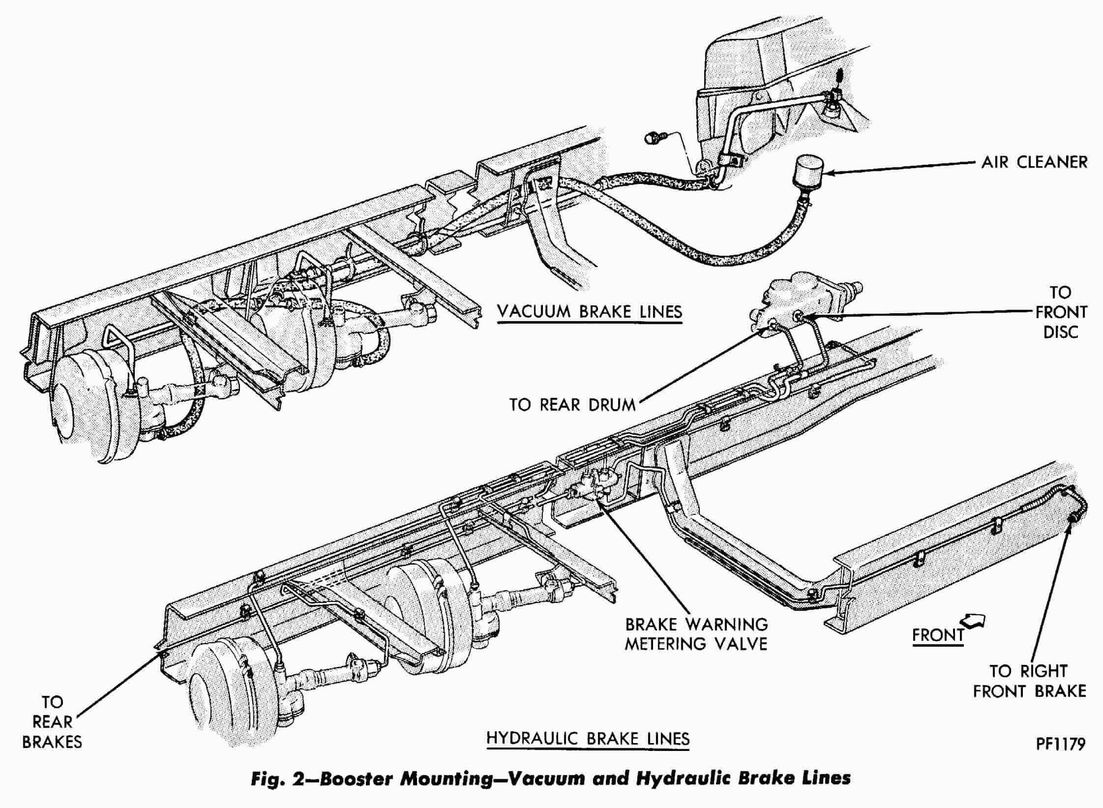 Brake Booster Diagram