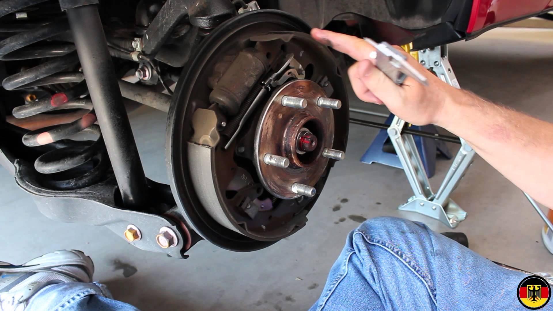 Brake Drum Diagram Suzuki Grand Vitara Rear Brake Drum Inspection Of Brake Drum Diagram