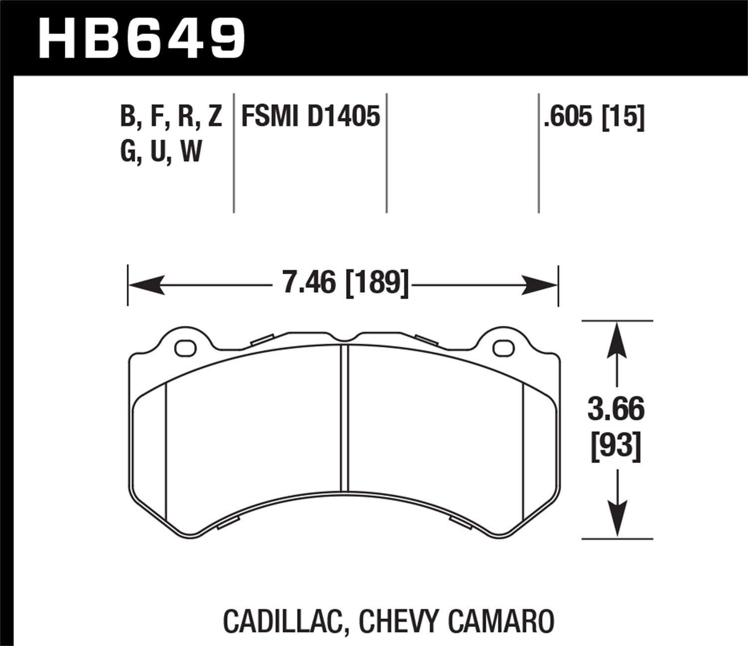 Brake Pad Diagram Nice Awesome Hawk Performance Hb649f 605 Disc Brake Pad New 2018 Of Brake Pad Diagram