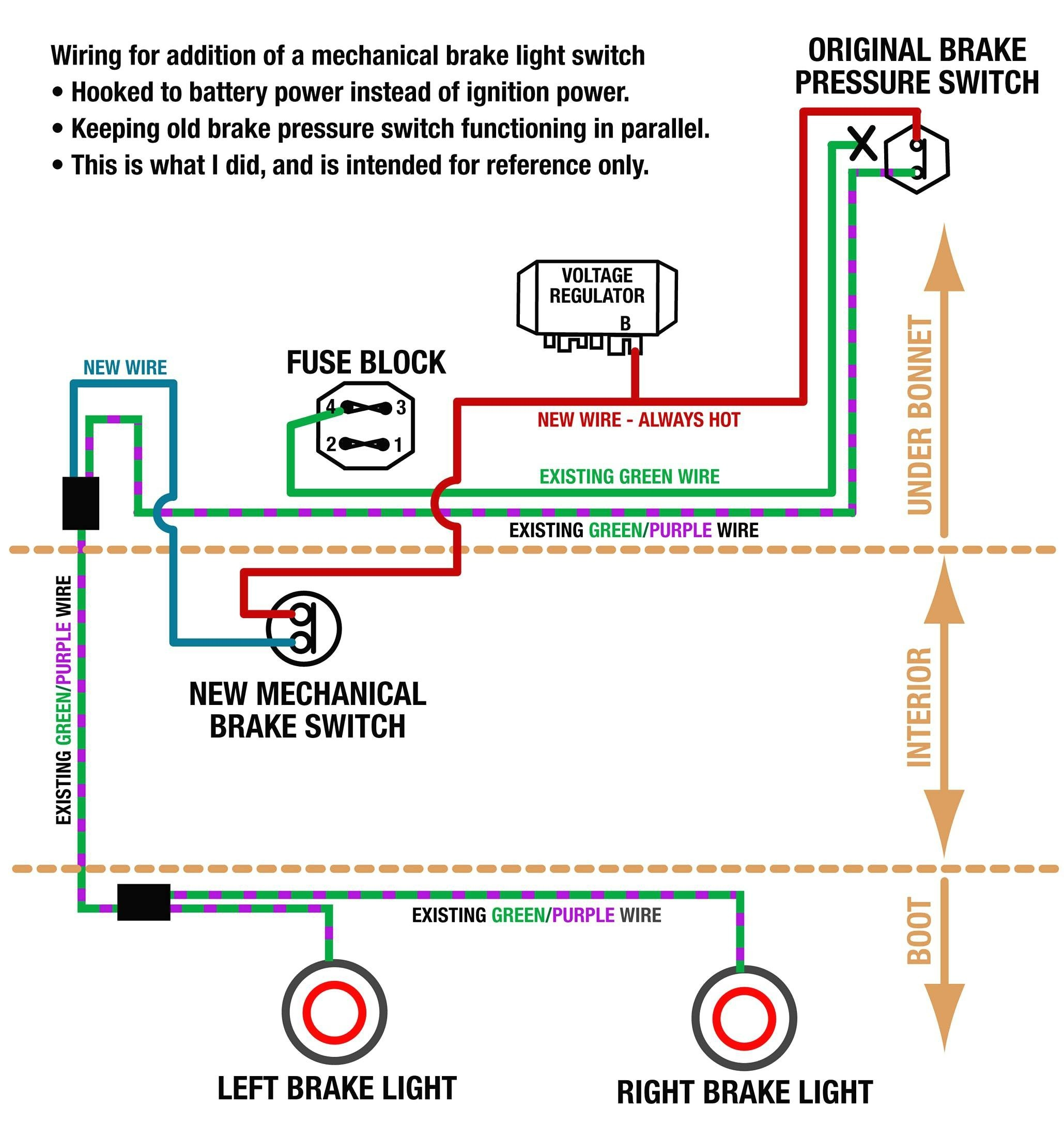 Brake Switch Wiring Diagram Electric Trailer Parts How Diagrams Light Of