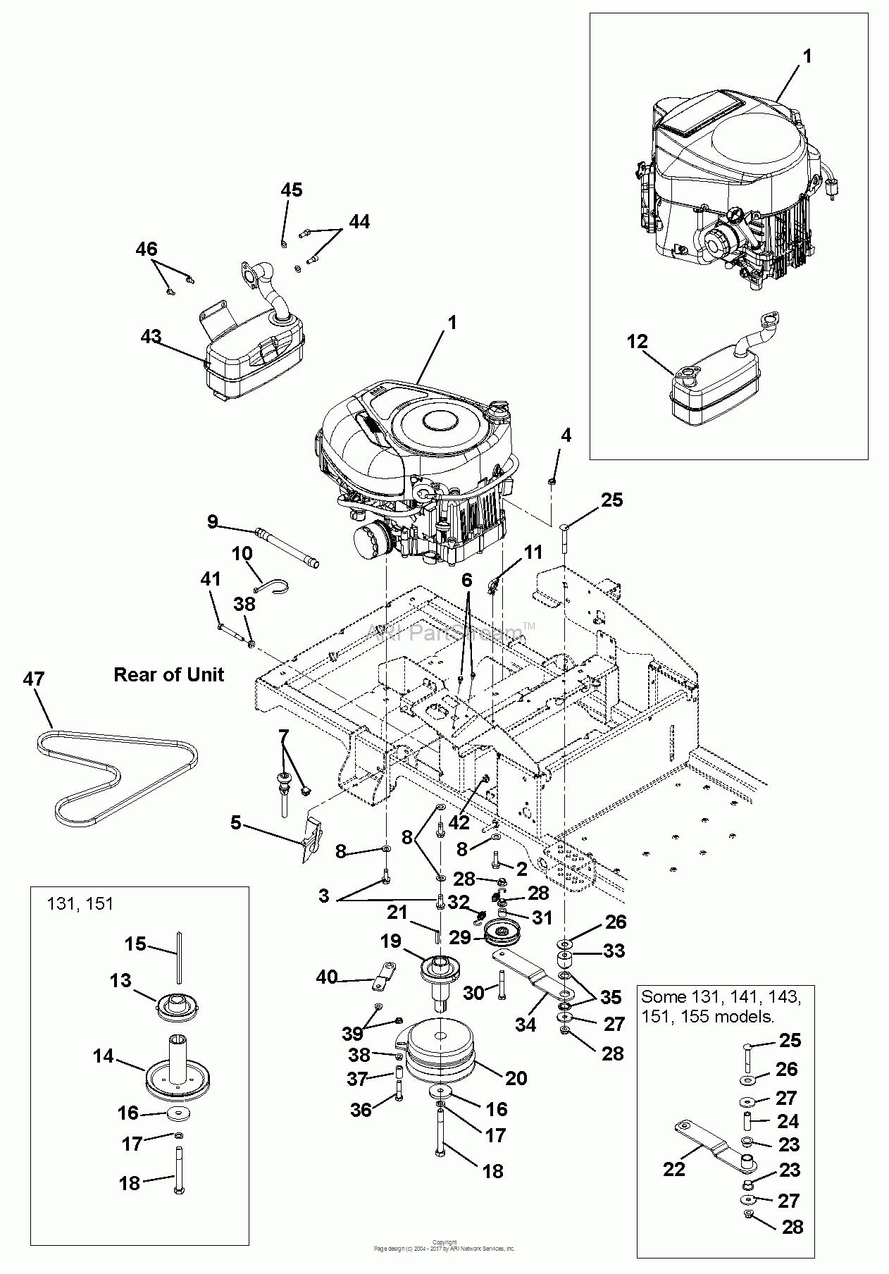briggs and stratton 550ex parts diagram briggs stratton