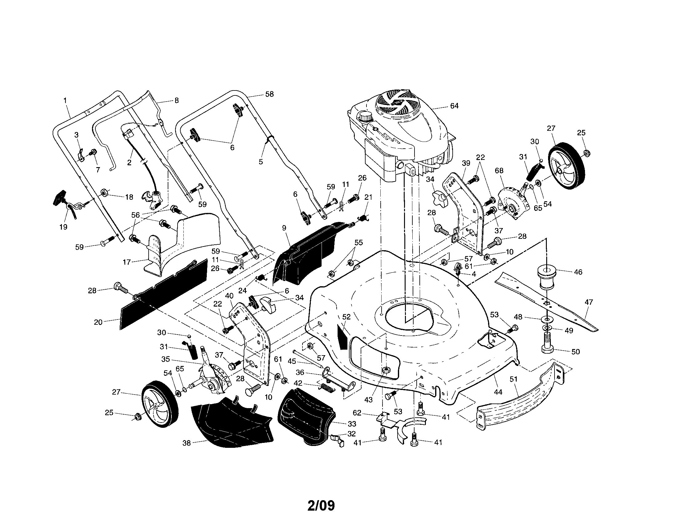 briggs and stratton small engine parts diagram