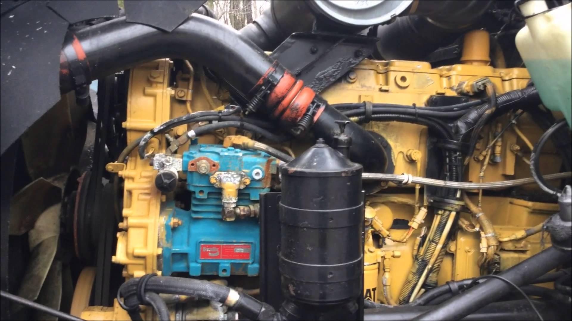 Belt diagram for 3406e cat engine