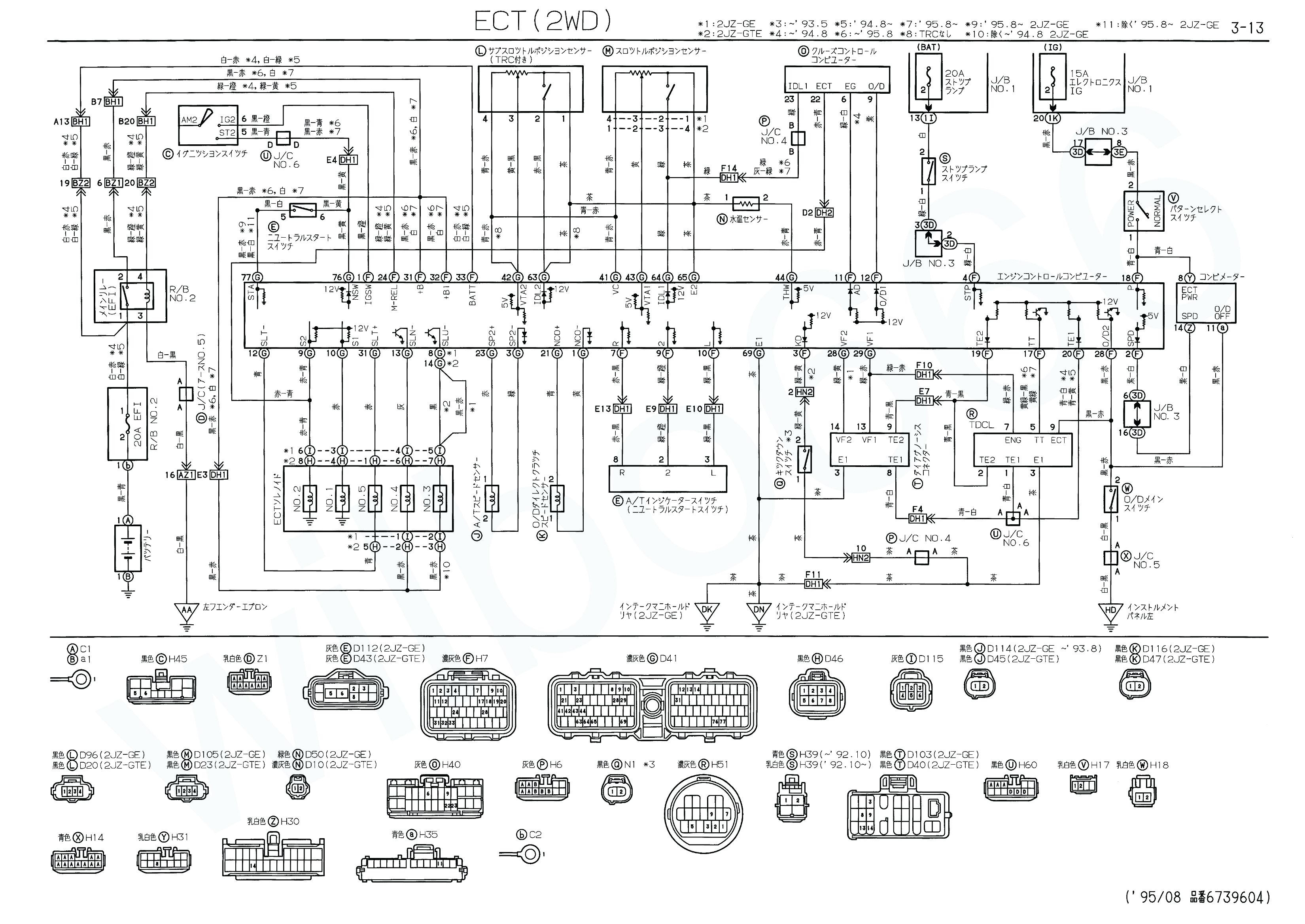 1993 Toyota Camry Electrical Wiring Diagram Trusted 1996 Fuse 1994 Vehicle Diagrams 96 Box