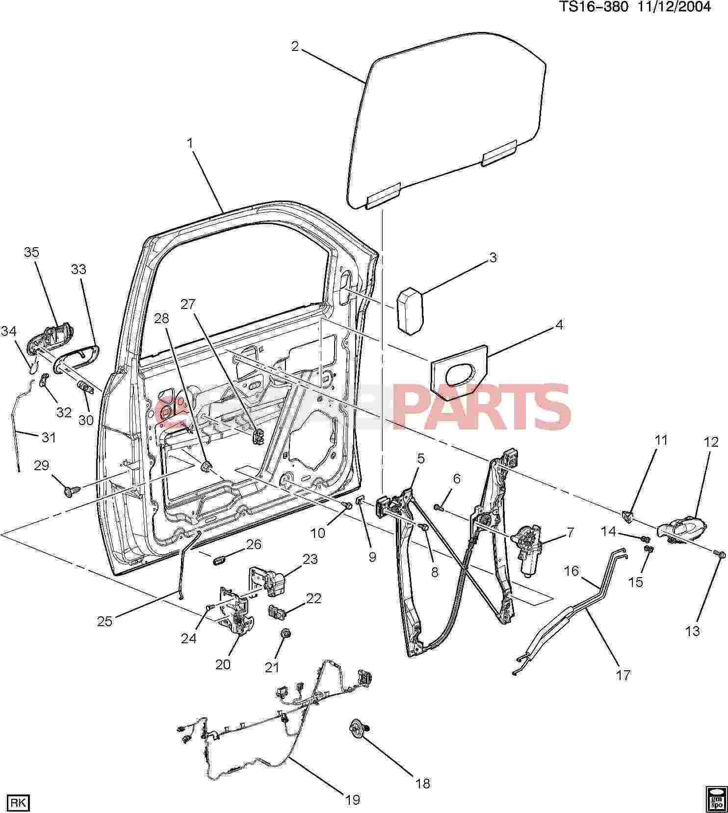 Car Body Diagram Parts ] Saab Bolt Washer M6x1x15 5 75 Thd 17 Od 8 8 Gmw3359 Of Car Body Diagram Parts