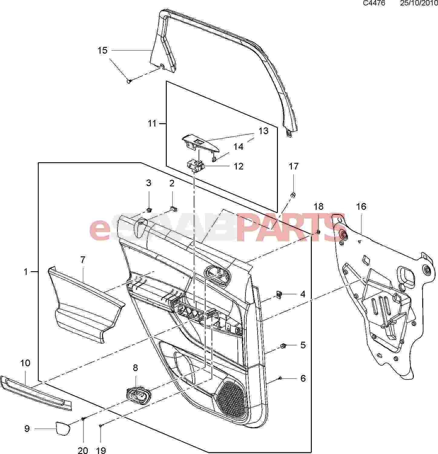 car body panel diagram body side panels opel ampera  u2013 my